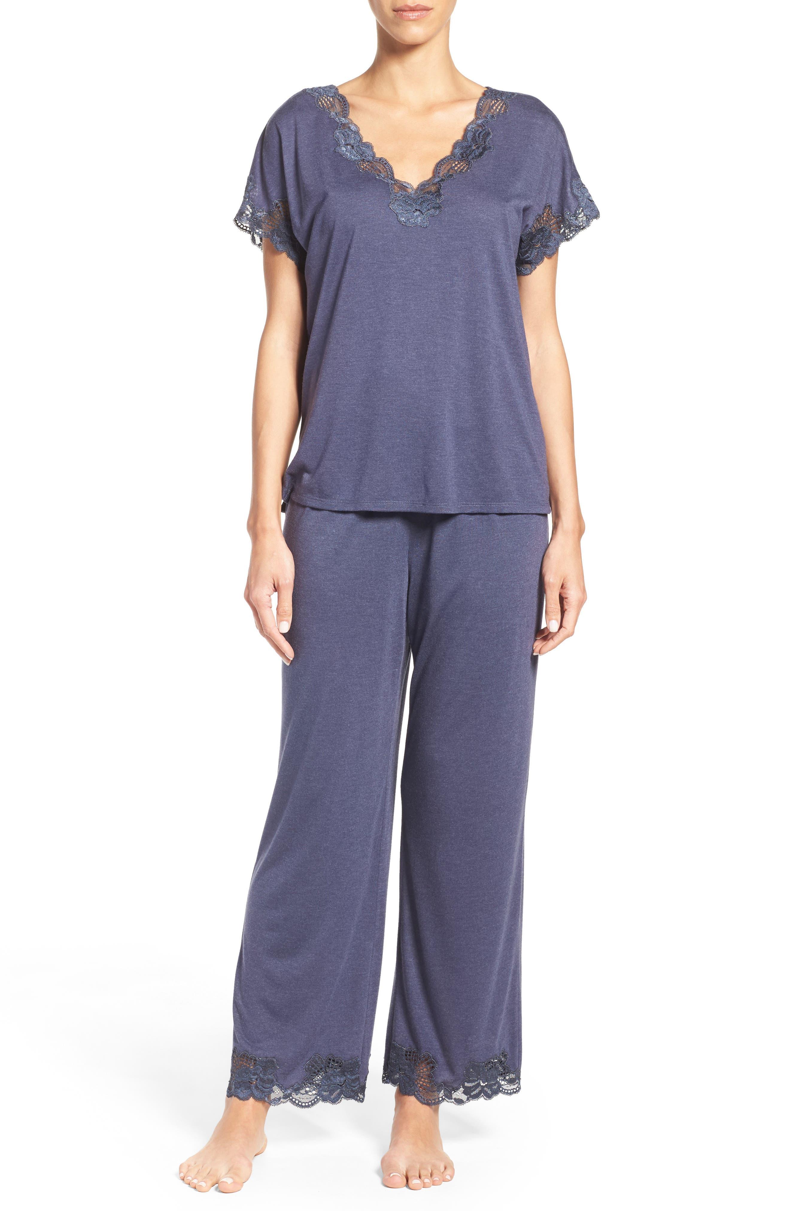Alternate Image 1 Selected - Natori 'Zen Floral' Pajama Set
