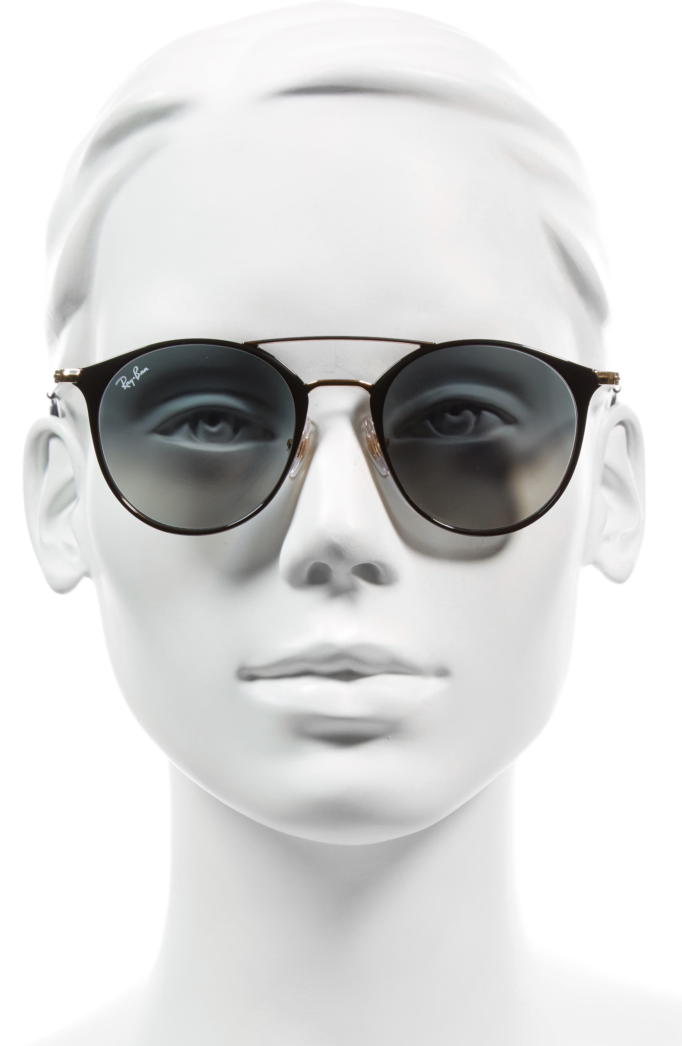 Alternate Image 2  - Ray-Ban 49mm Gradient Round Sunglasses