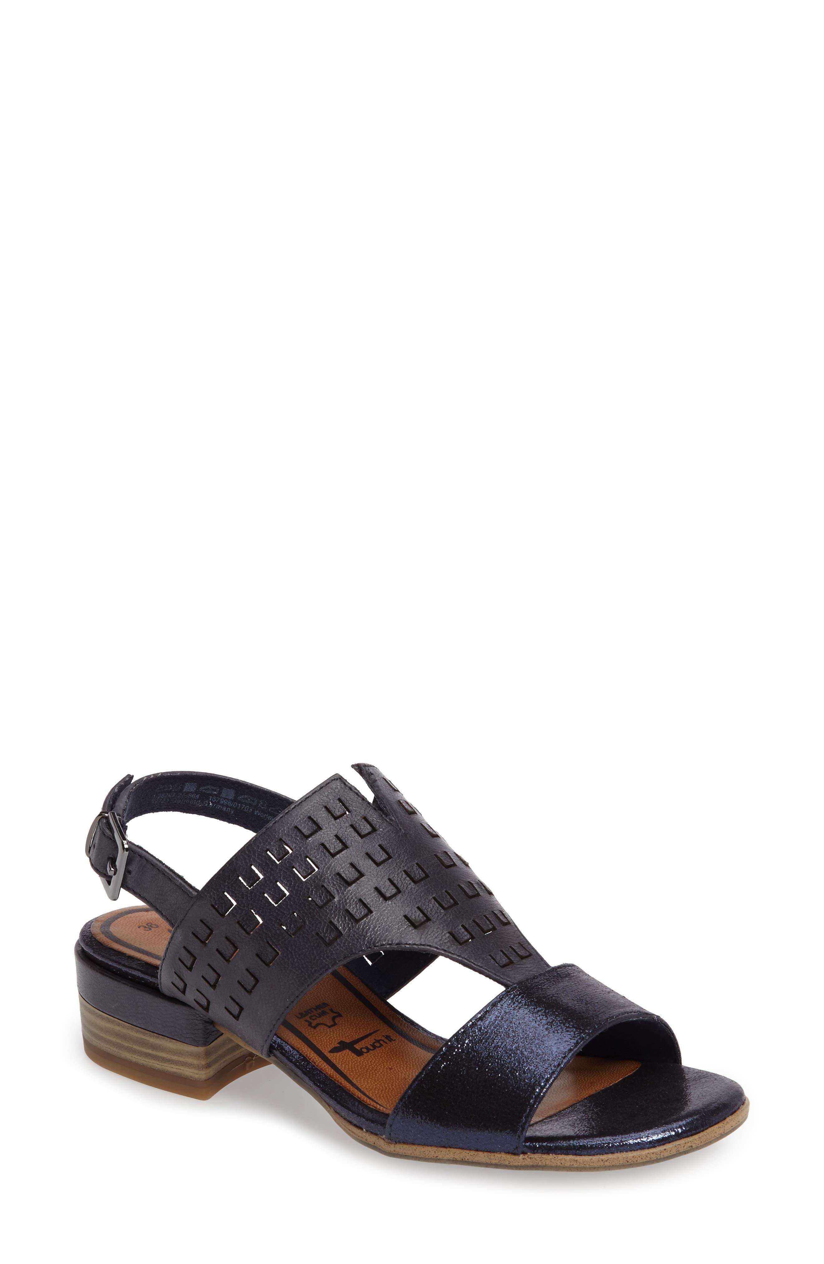 Tamaris Nao Perforated Sandal (Women)