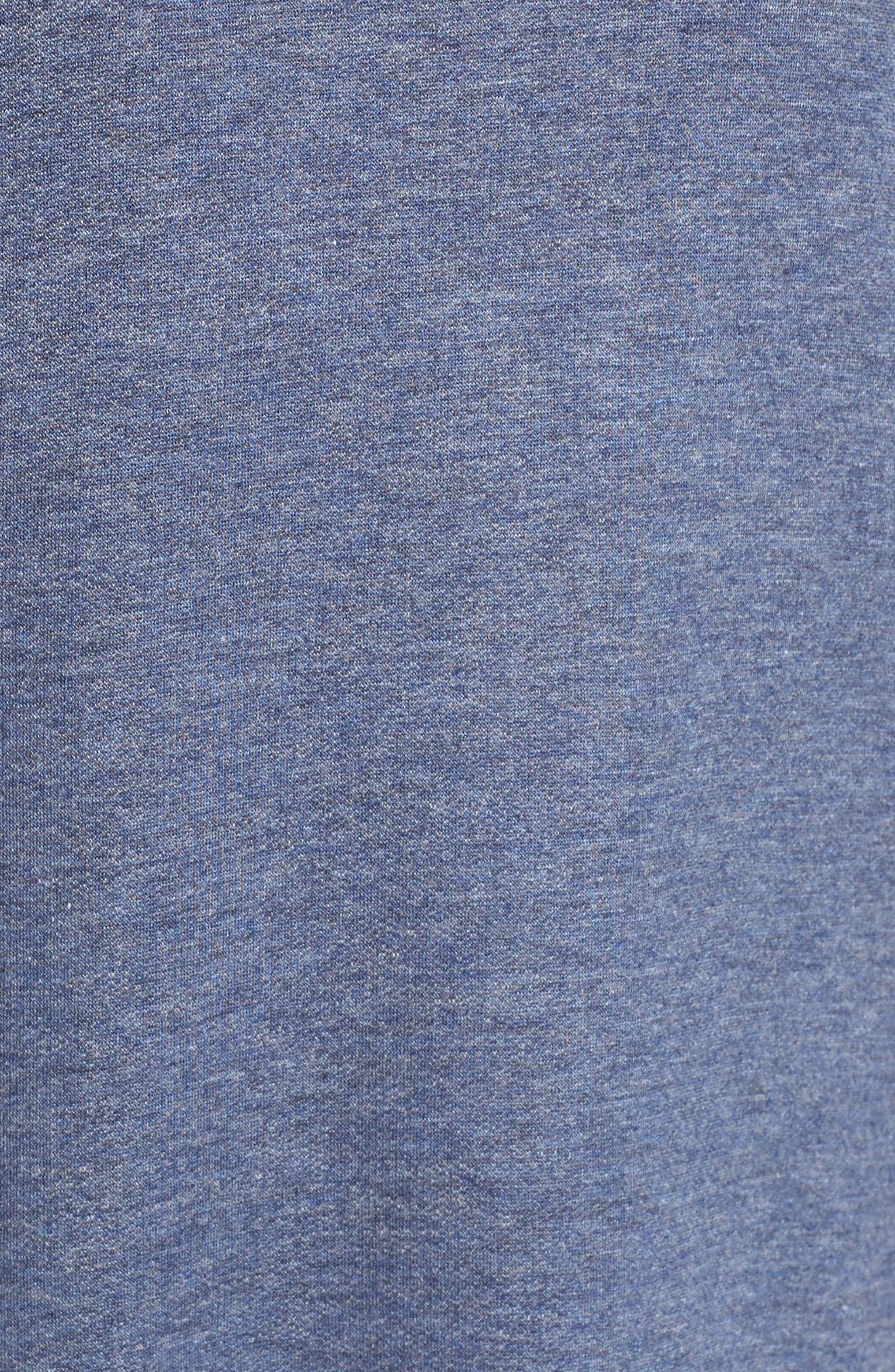 Alternate Image 5  - Bobeau High/Low Cold Shoulder Sweatshirt
