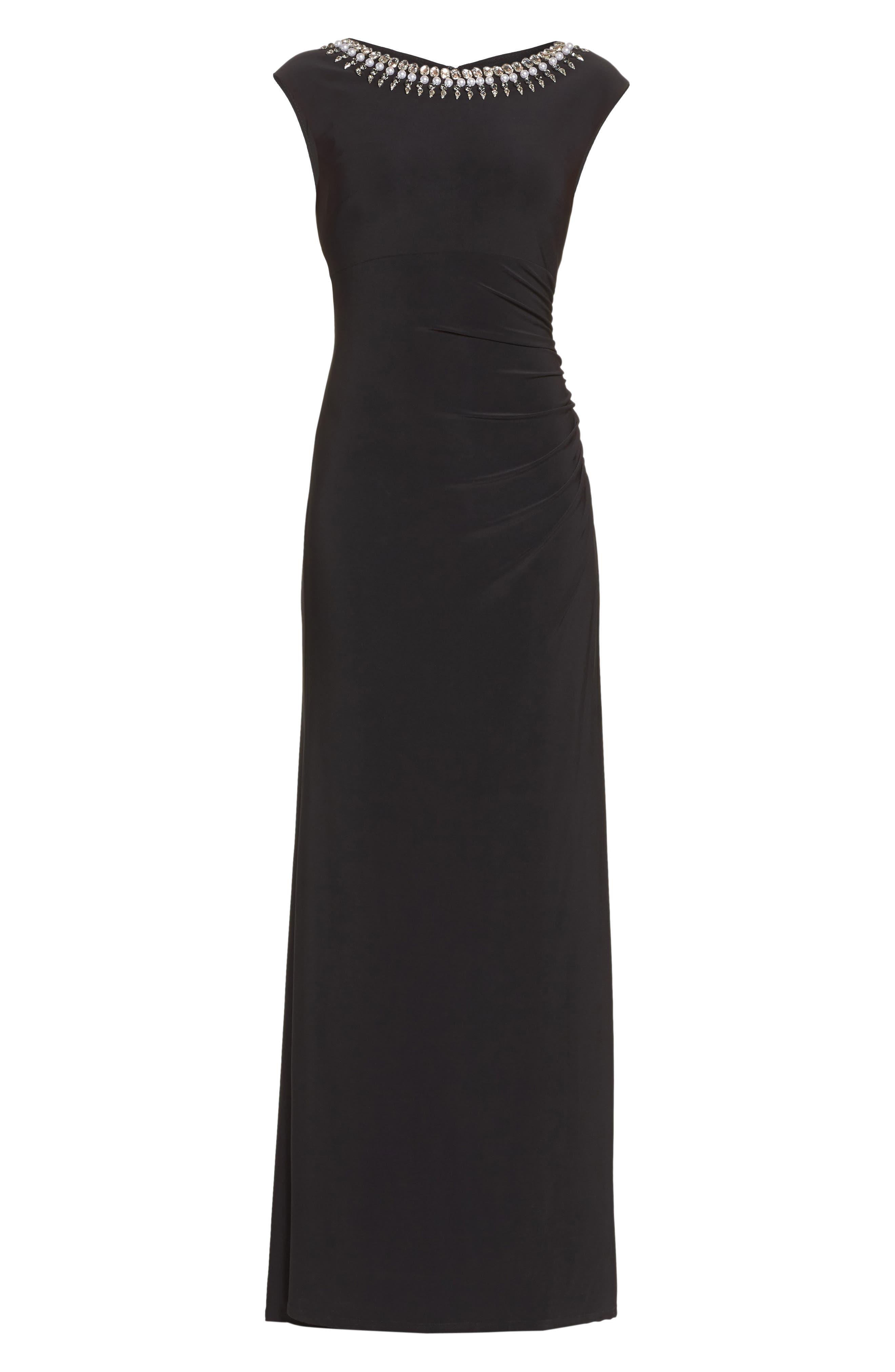 Alternate Image 7  - Vince Camuto Embellished Gown