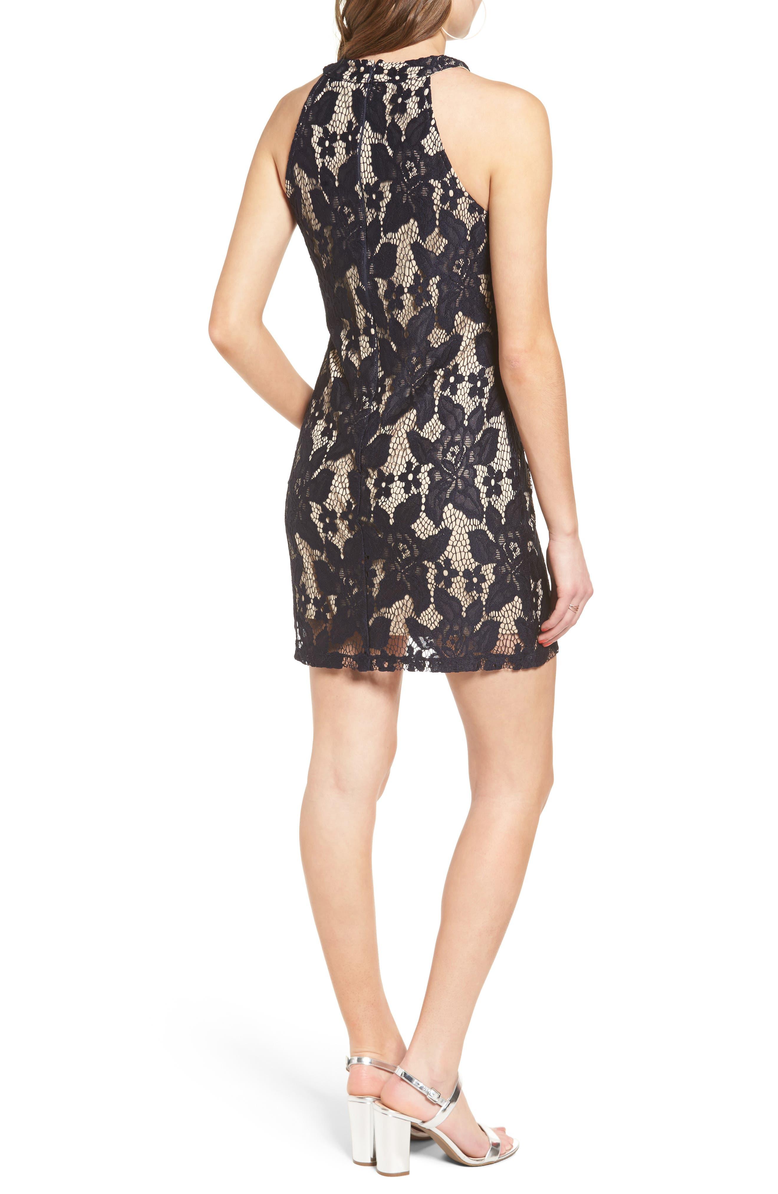 Alternate Image 2  - Speechless Lace Body-Con Dress