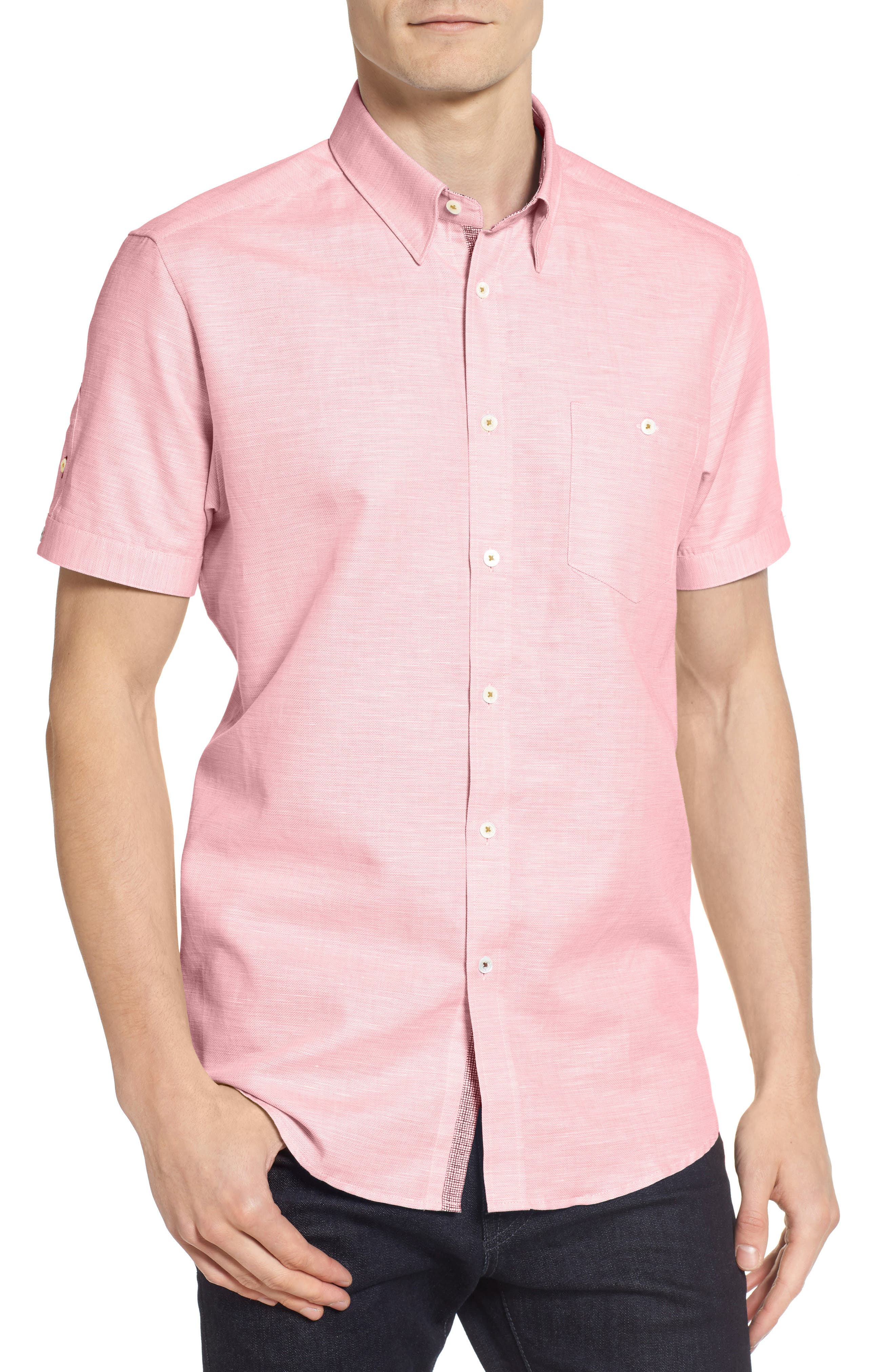TED BAKER LONDON Sweetz Extra Slim Fit Cotton