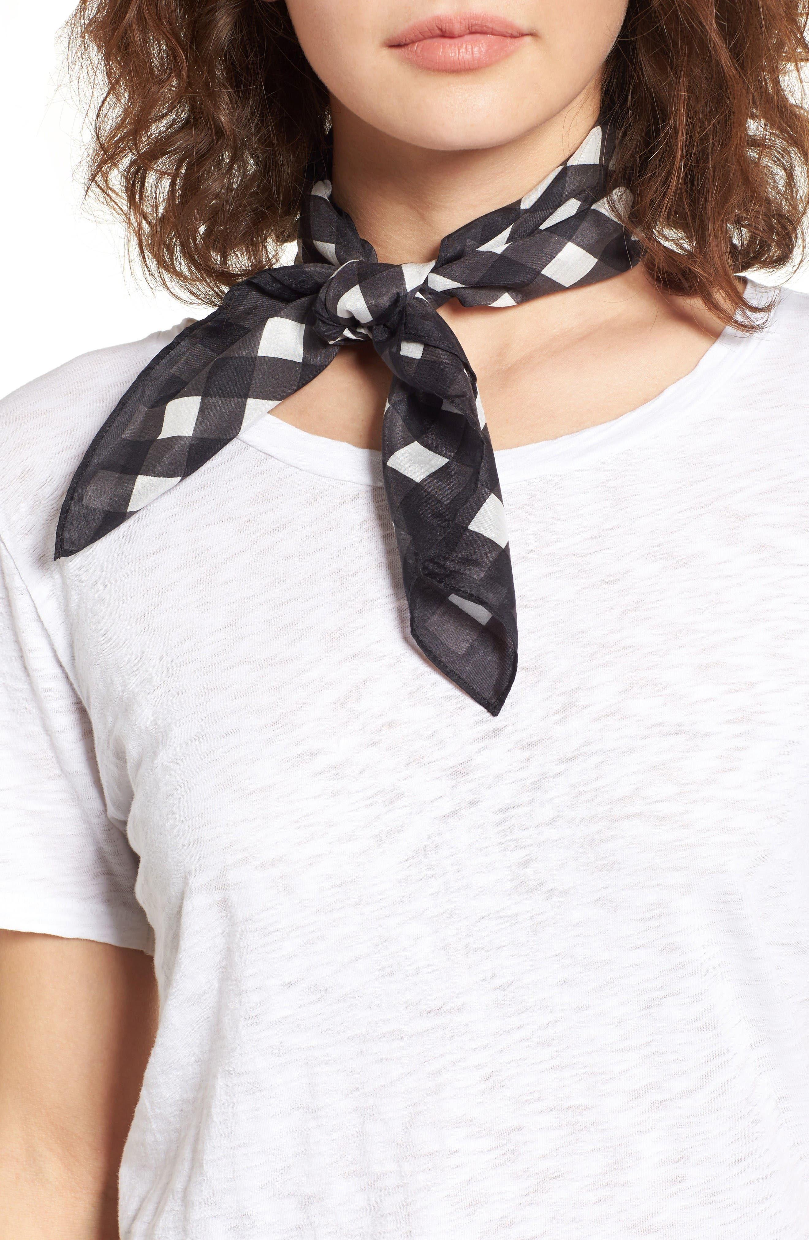 Alternate Image 1 Selected - Rag & Bone Gingham Bandana