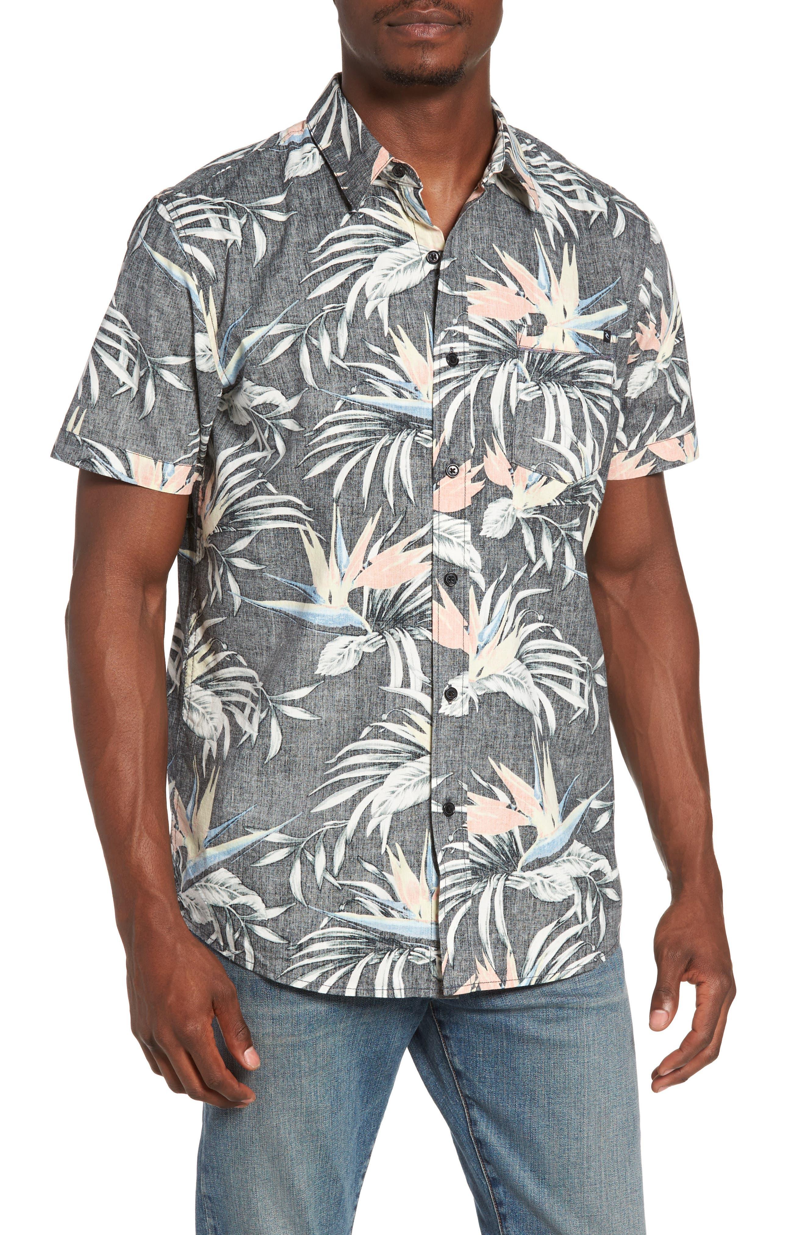 Rip Curl Island Time Tropical Print Shirt