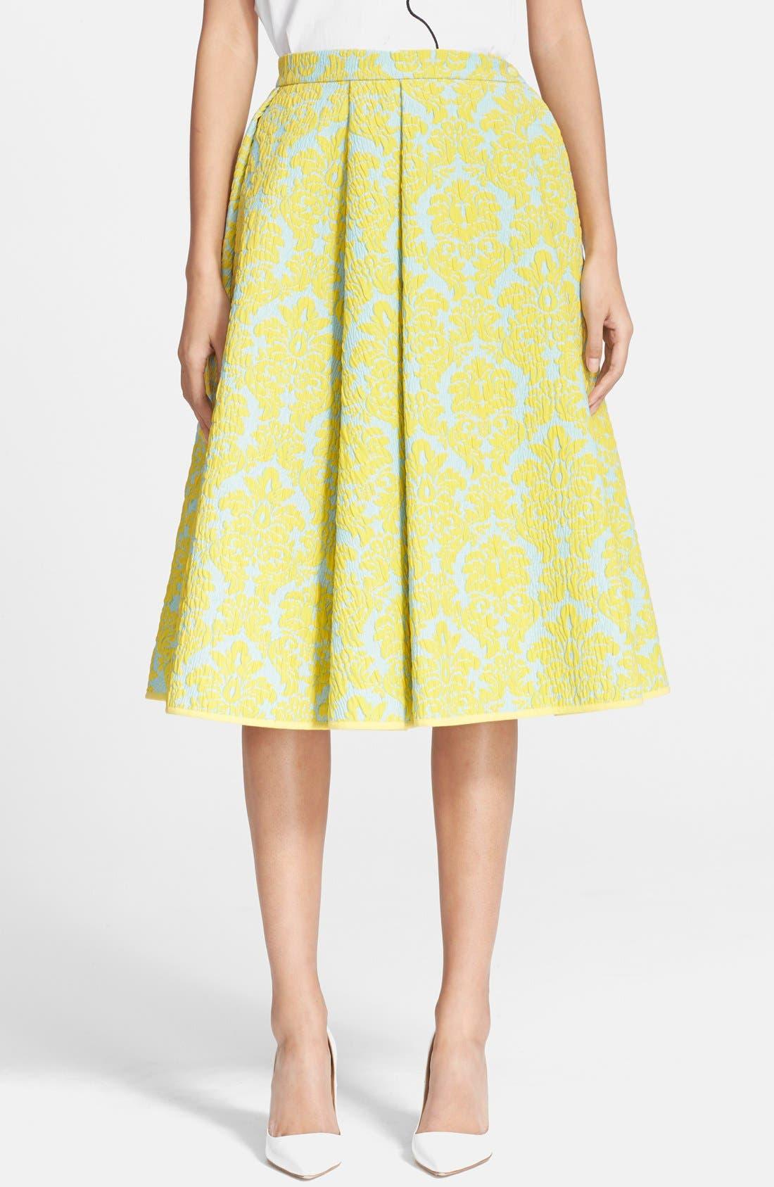 Main Image - VIVETTA 'Candy' Brocade A-Line Skirt