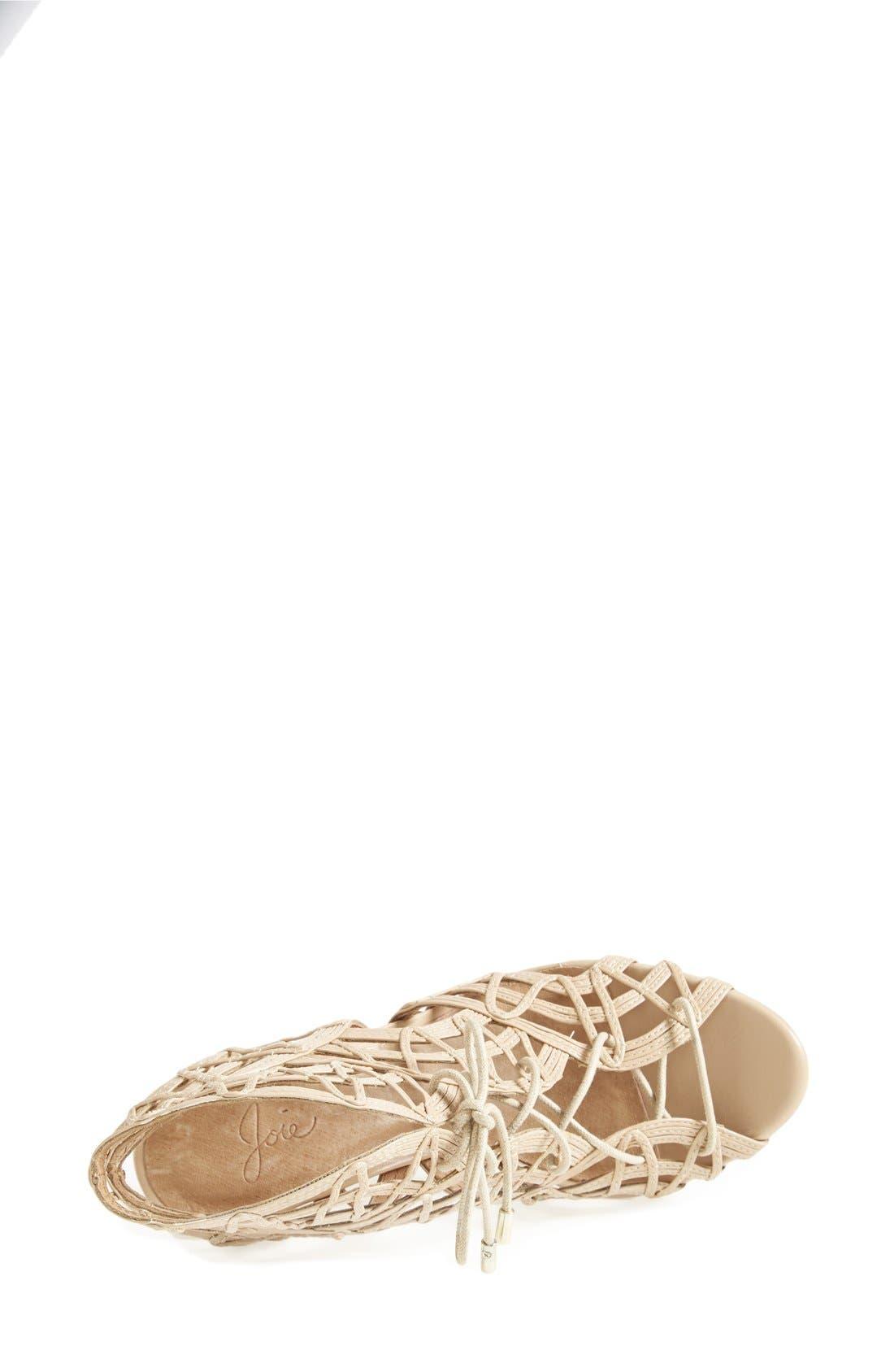 Alternate Image 3  - Joie 'Leah' Lace-Up Sandal (Women)