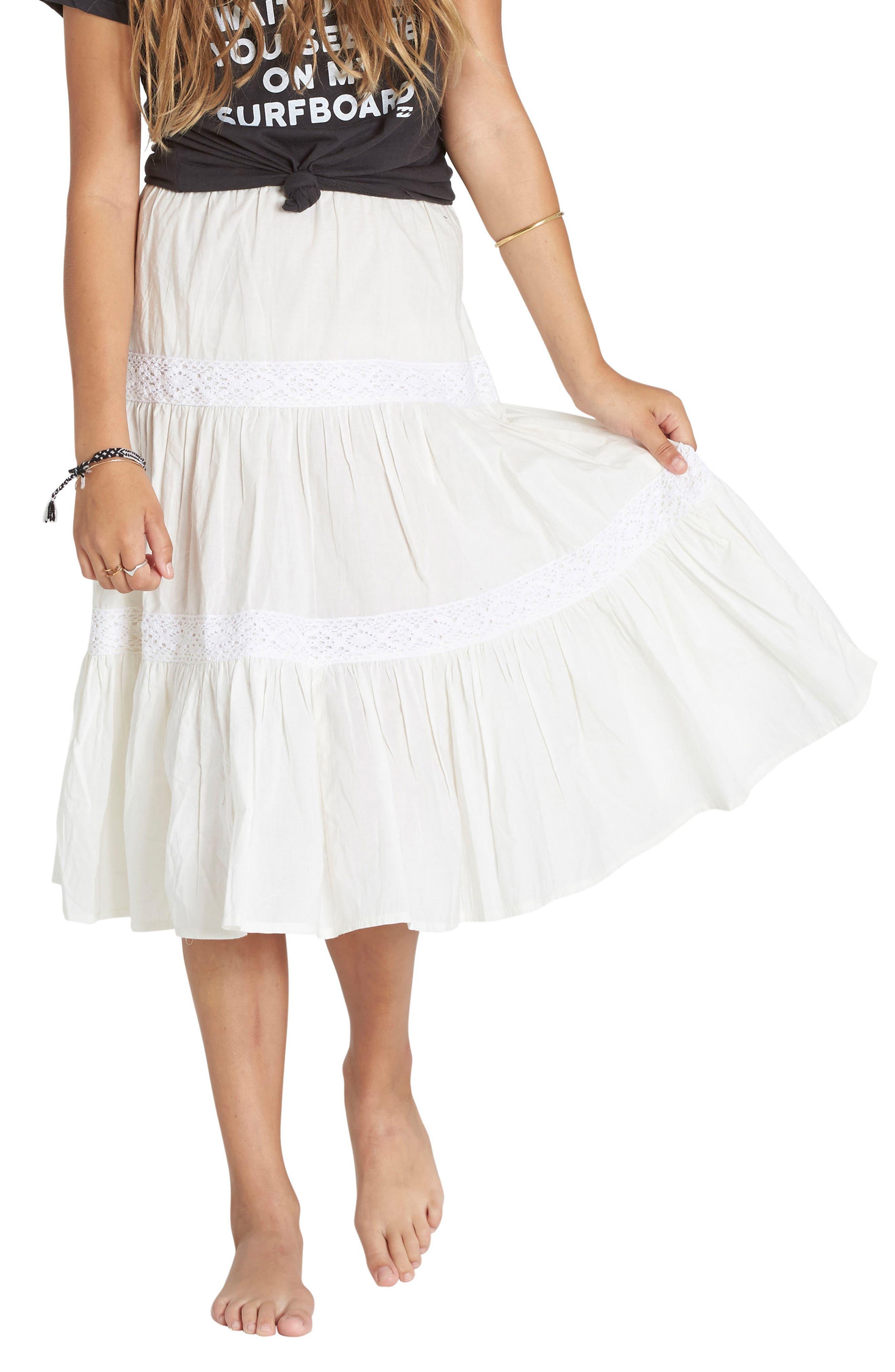 Billabong Prairie Fun Cotton Skirt (Little Girls & Big Girls)