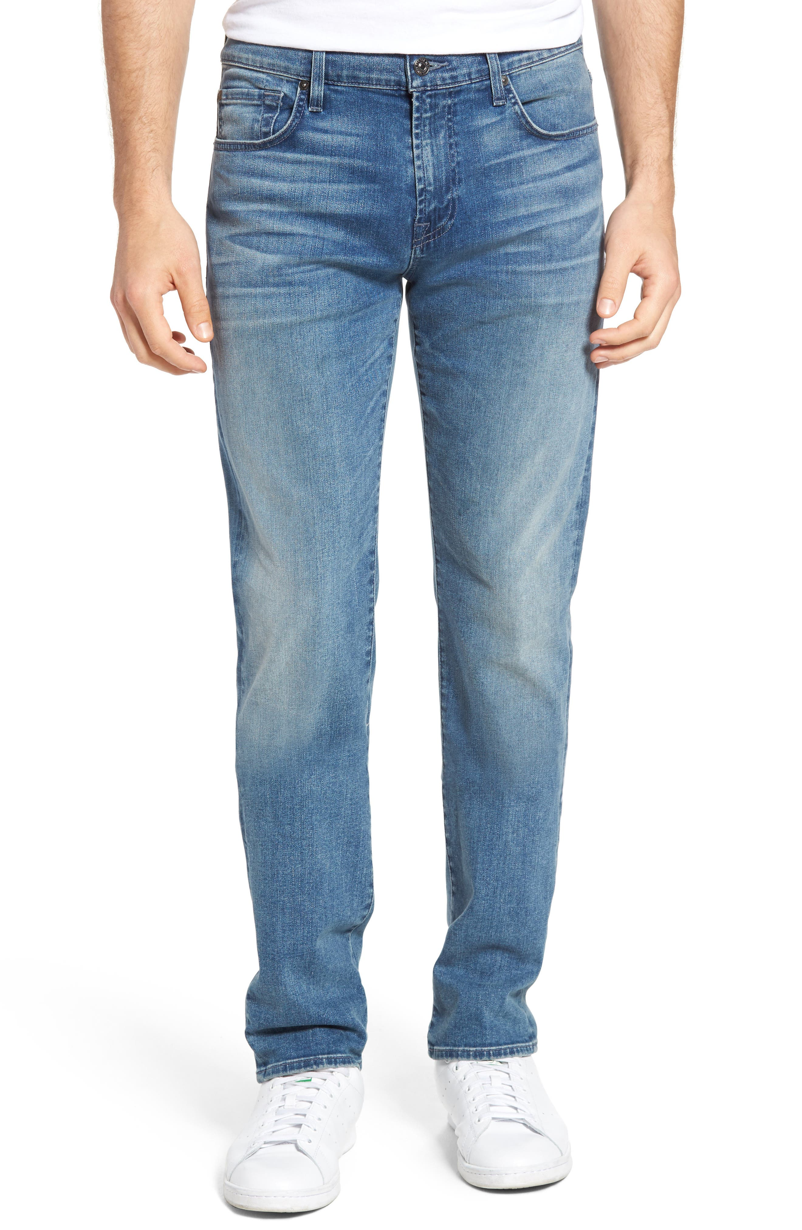 7 For All Mankind® Slimmy Slim Fit Jeans (Influx)