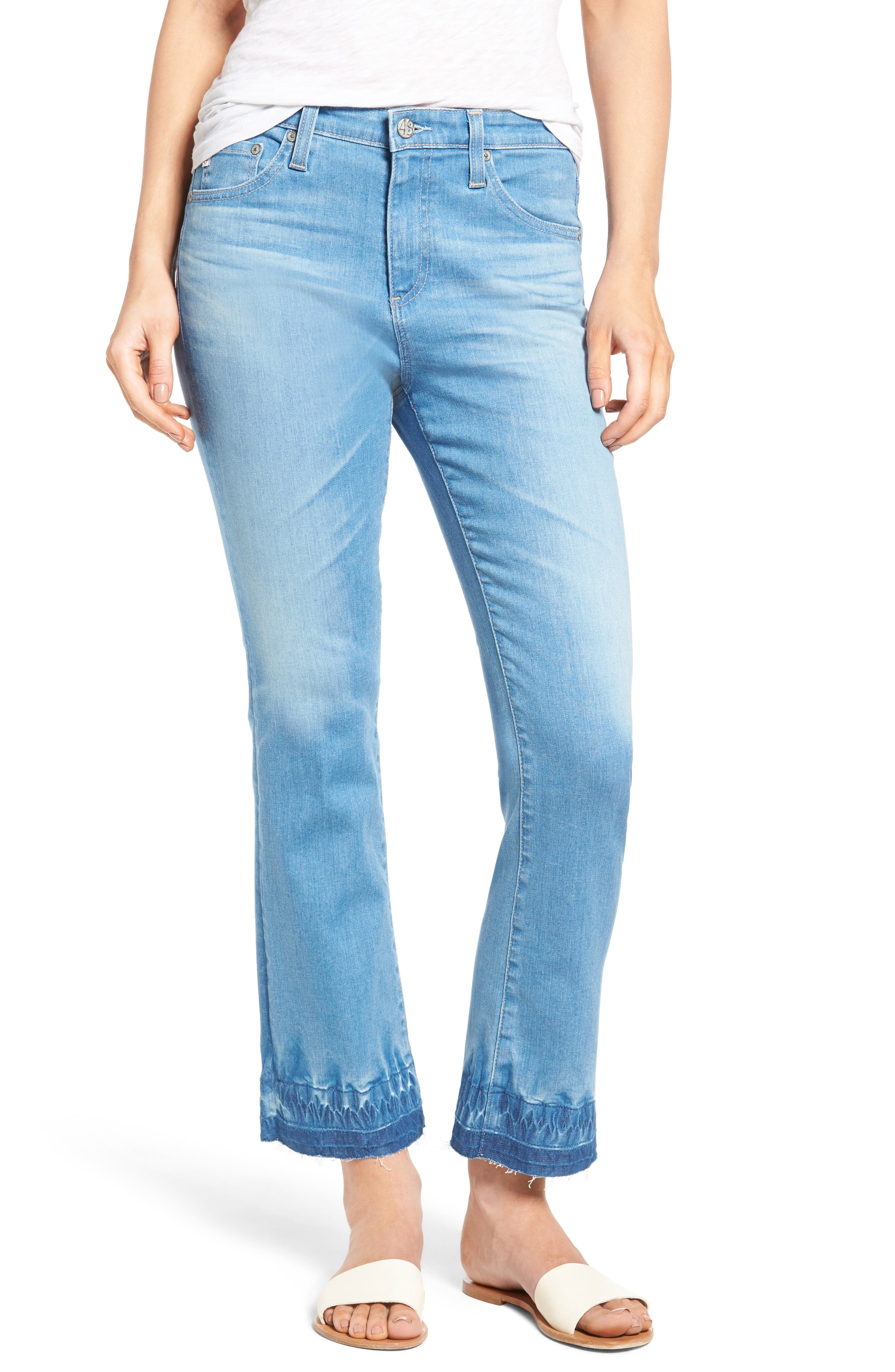 AG Jodi Crop Flare Jeans (17 Years Daybreak)
