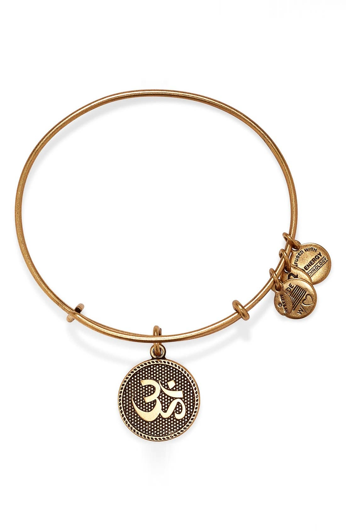 Alternate Image 1 Selected - Alex and Ani 'Om II' Expandable Wire Bangle
