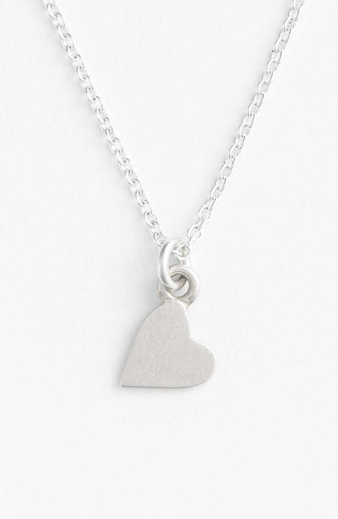 Alternate Image 4  - Dogeared 'Bridesmaid - Heart' Pendant Necklace (Nordstrom Exclusive)