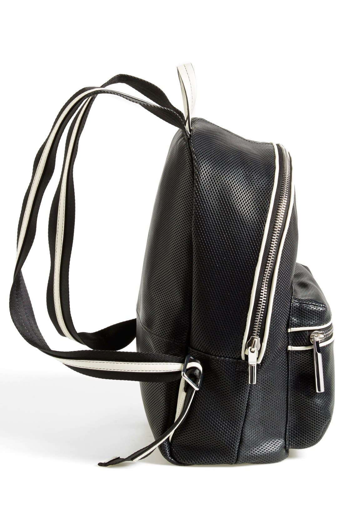 Alternate Image 5  - Elizabeth and James 'Cynnie' Perforated Leather Backpack