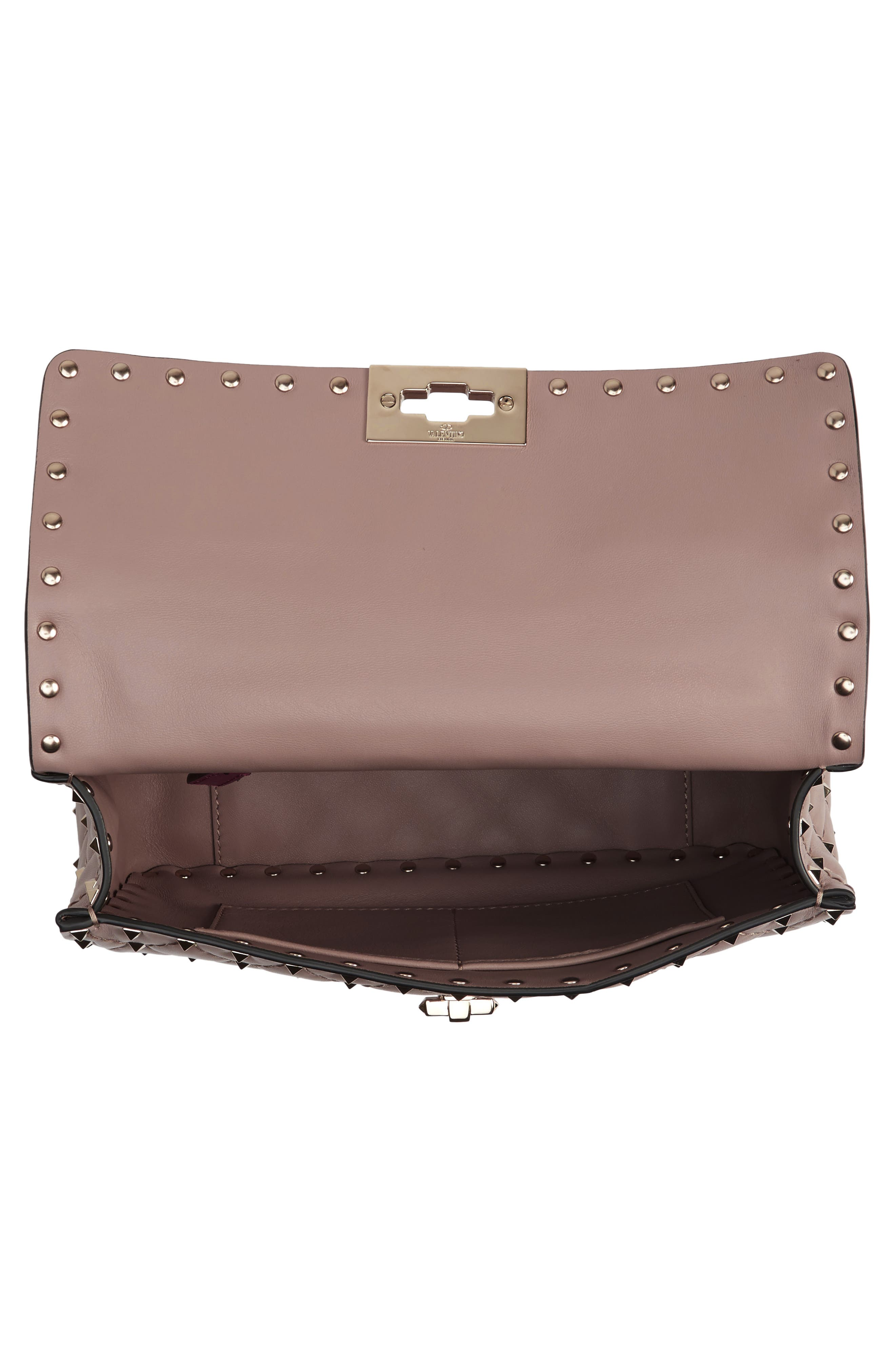 Alternate Image 4  - Valentino Medium Rockstud Spike Crossbody Bag