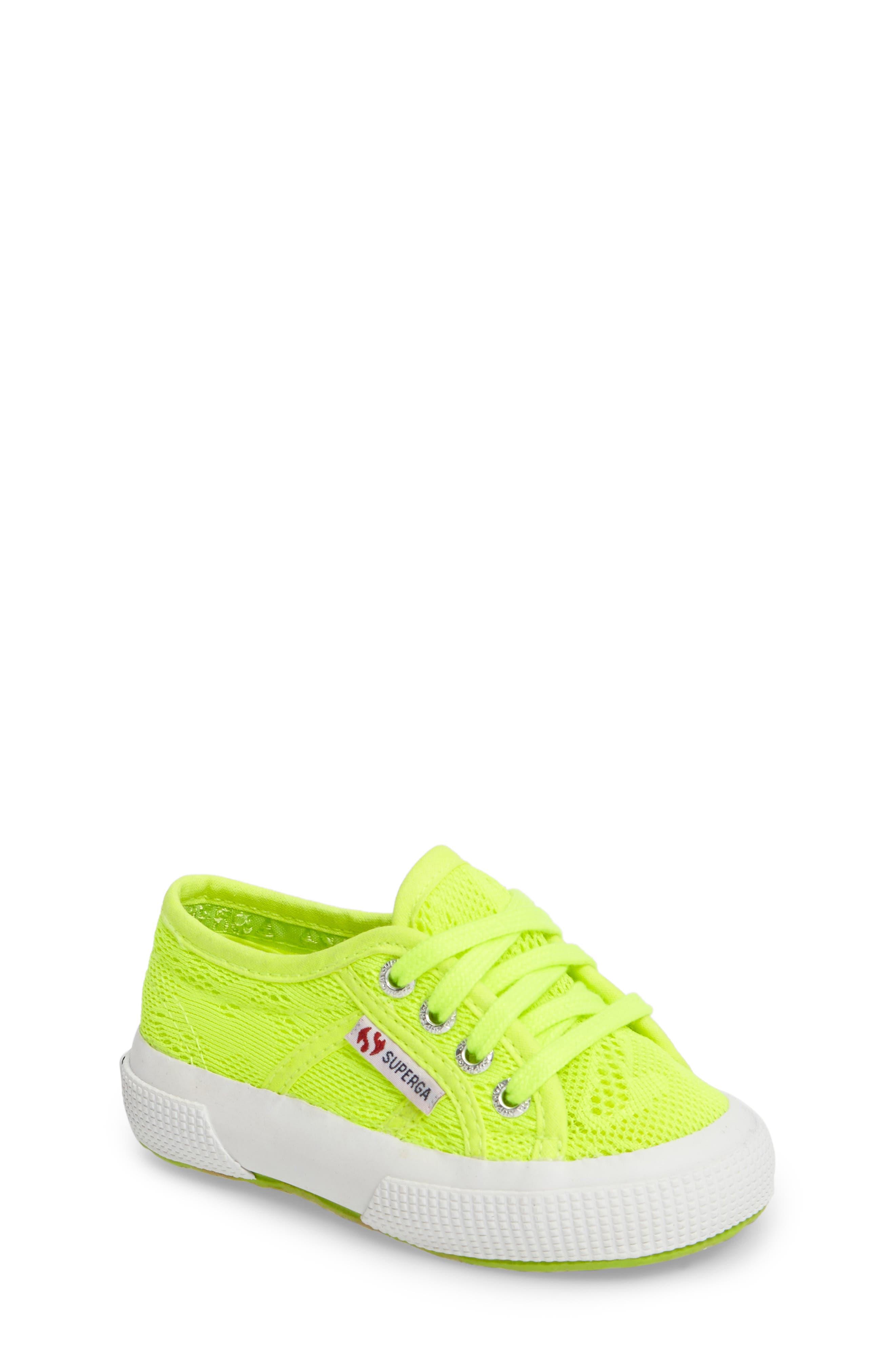 Superga Mesh Sneaker (Walker, Toddler & Little Kid)