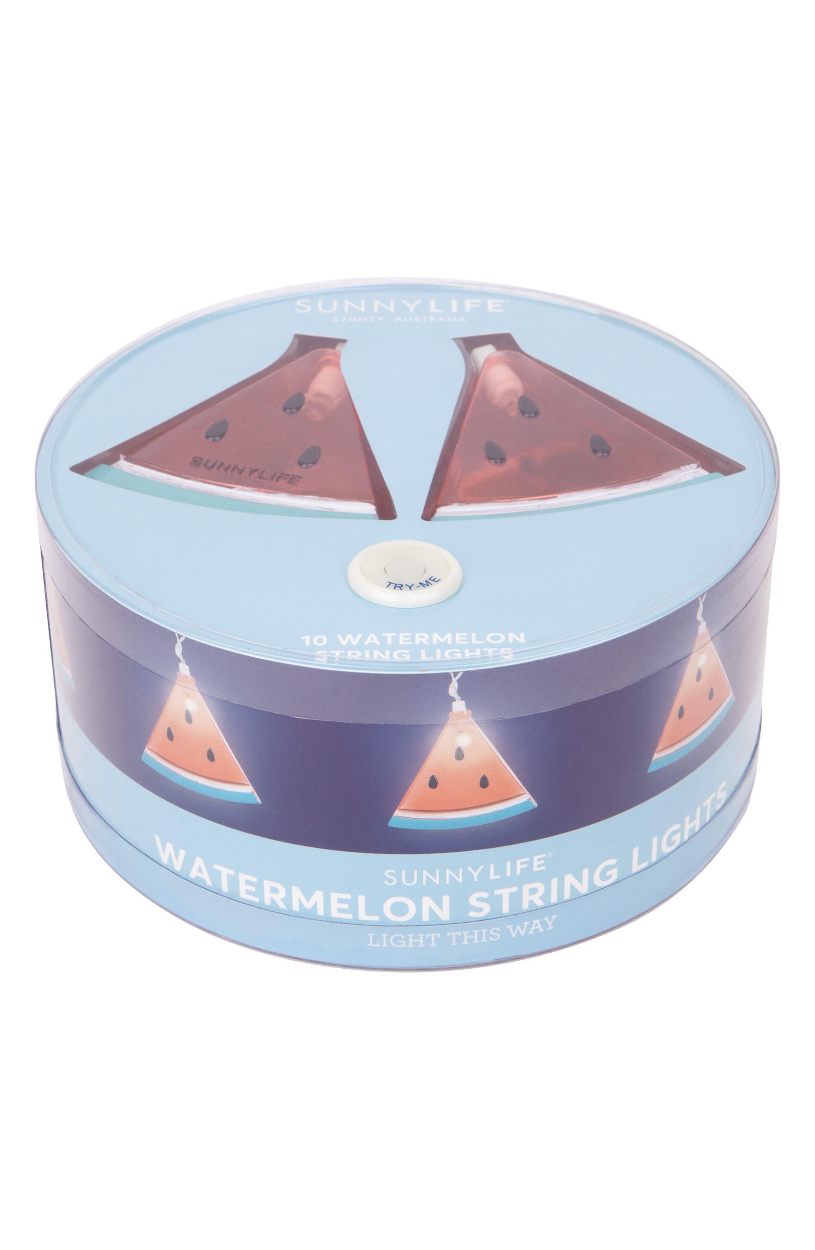 Alternate Image 3  - Sunnylife Watermelon String Lights