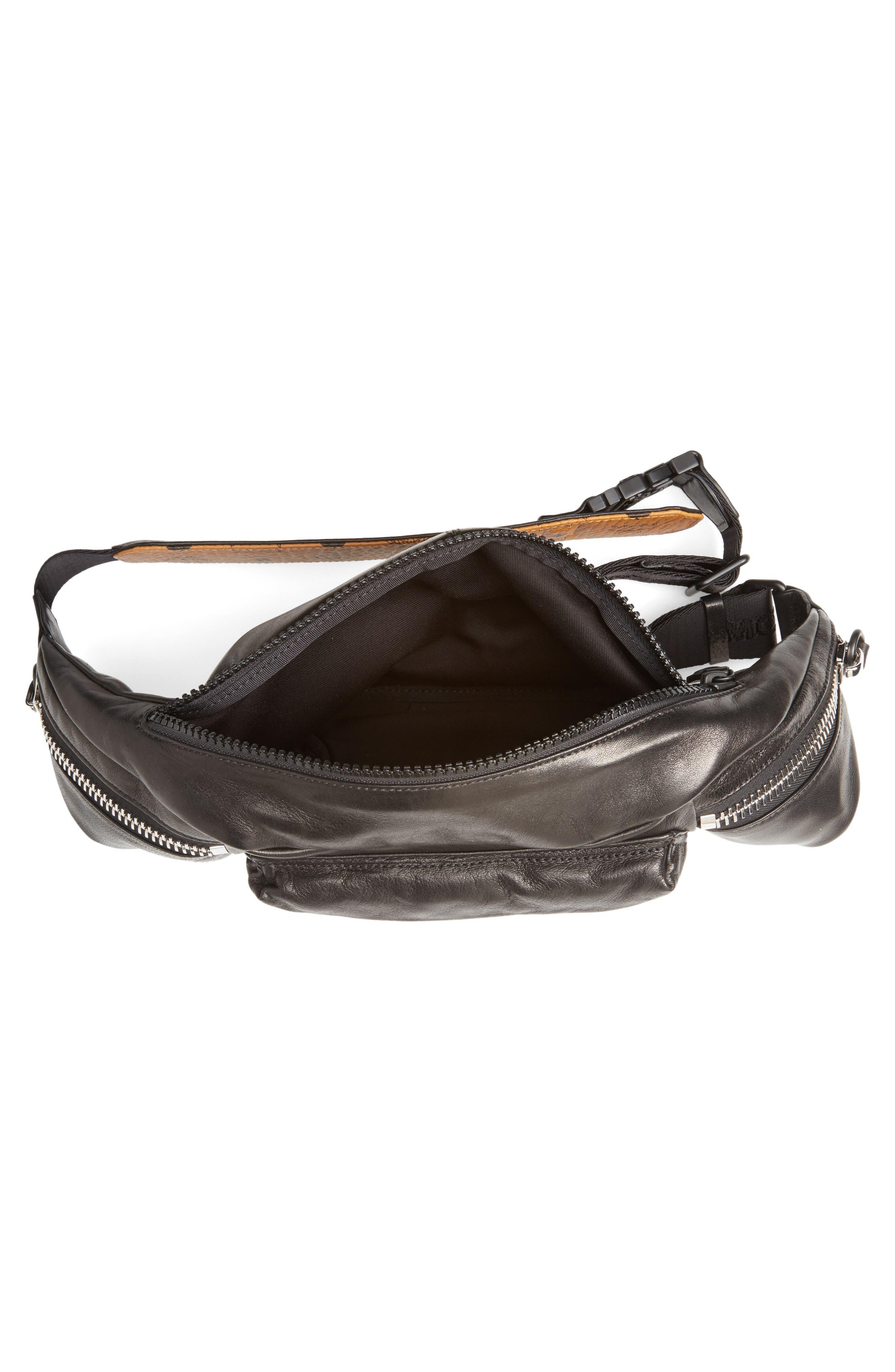 Alternate Image 4  - MCM Leather Waist Bag