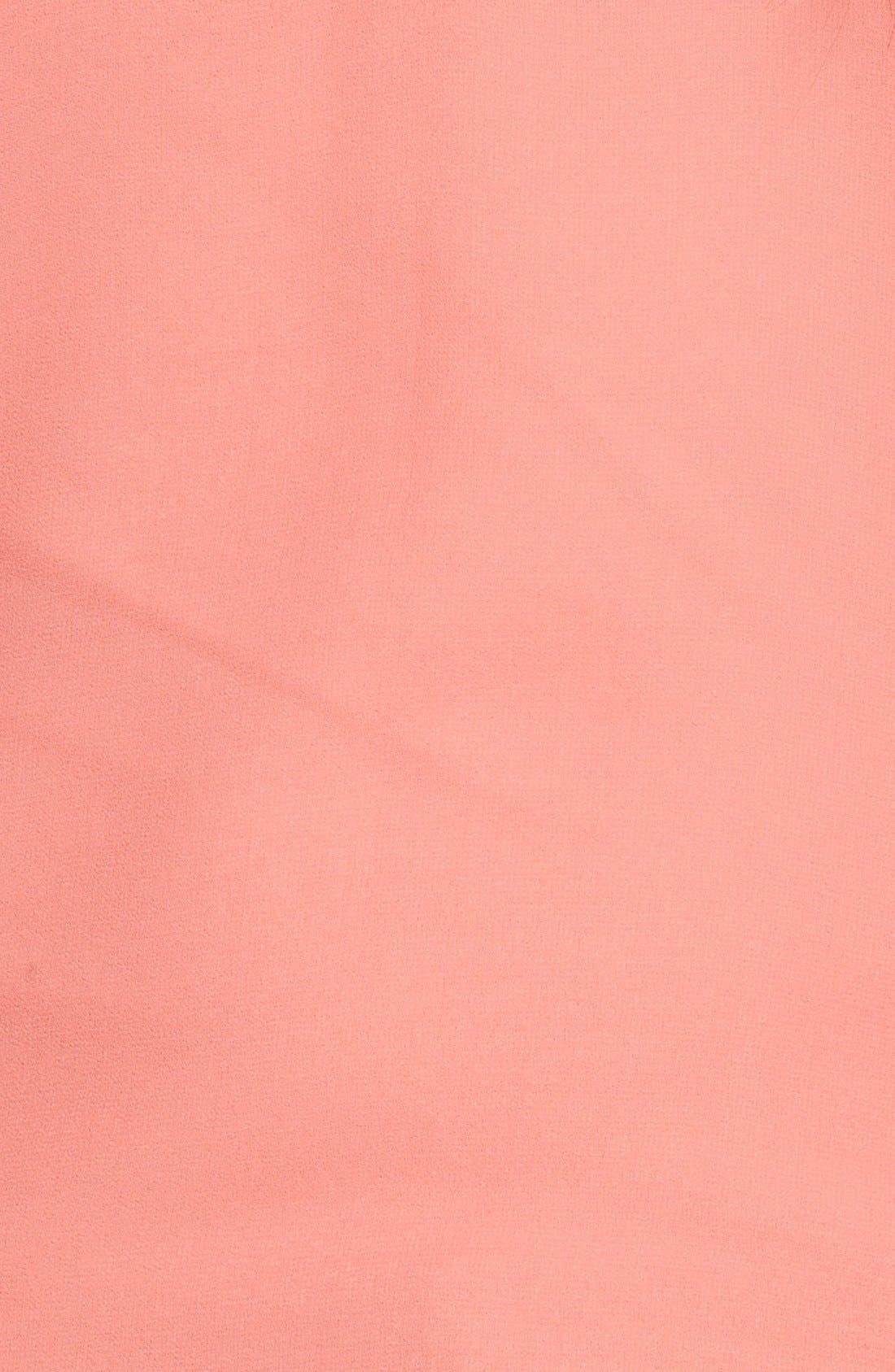 Alternate Image 4  - Caslon® Split Neck Sleeveless Blouse (Regular & Petite)