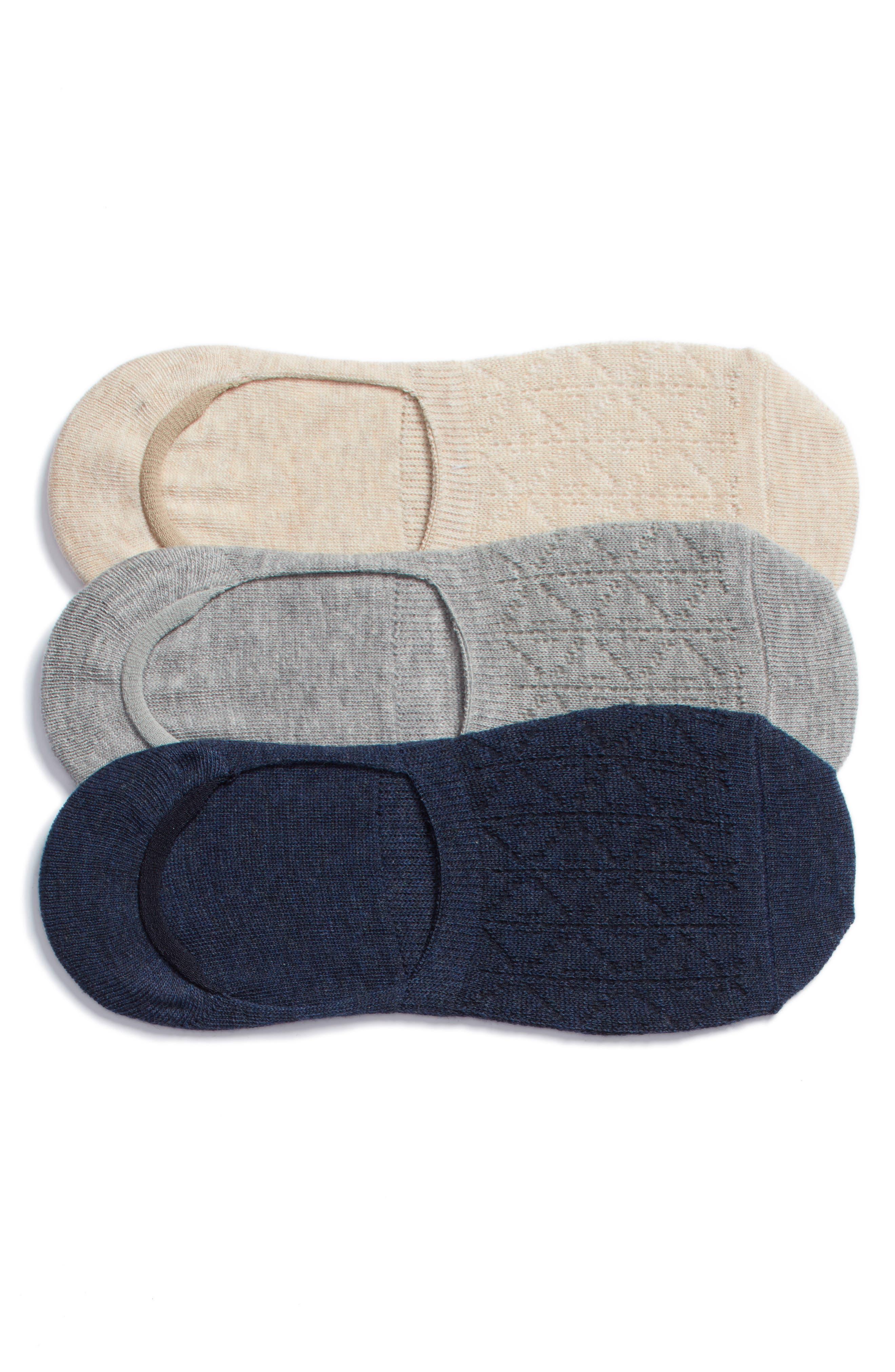 Treasure & Bond 3-Pack Pointelle Liner Socks