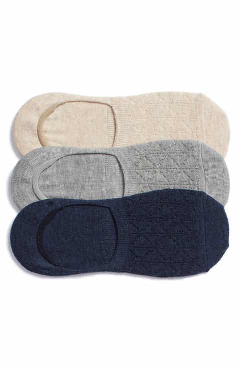 Treasure   Bond 3-Pack Pointelle Liner Socks