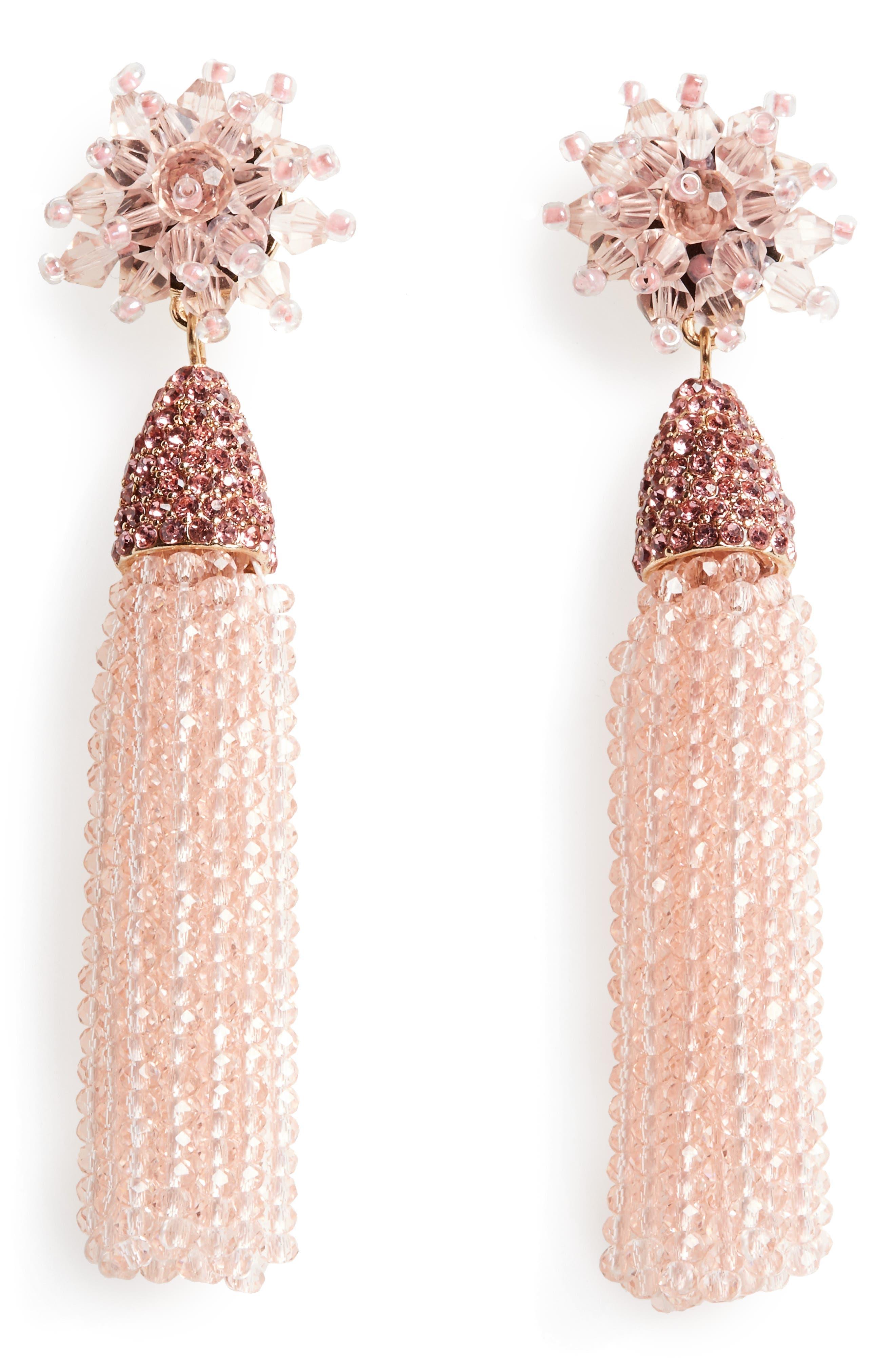 Main Image - BaubleBar Chrysanthemum Drop Earrings