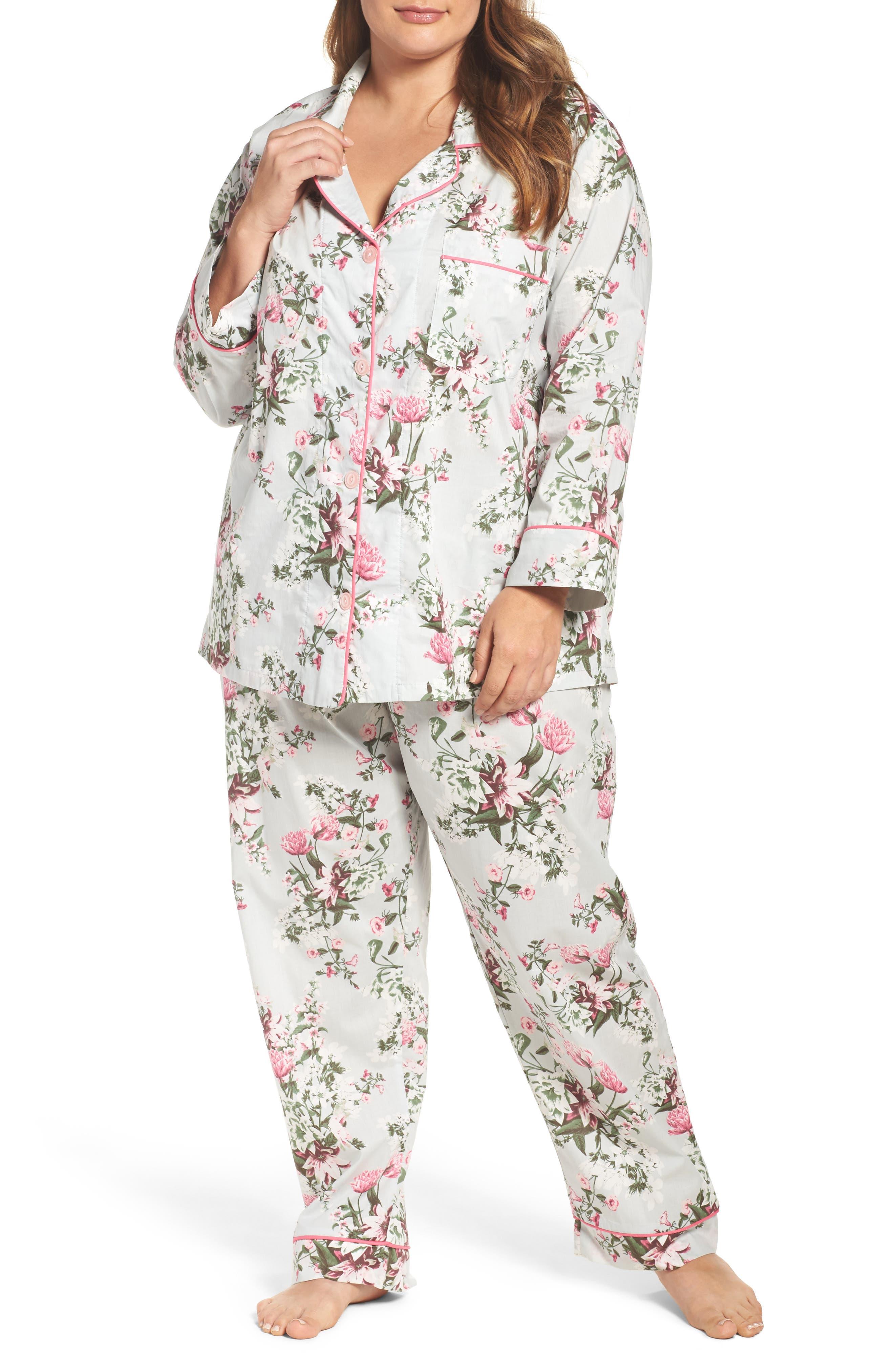BedHead Floral Classic Pajamas (Plus Size)