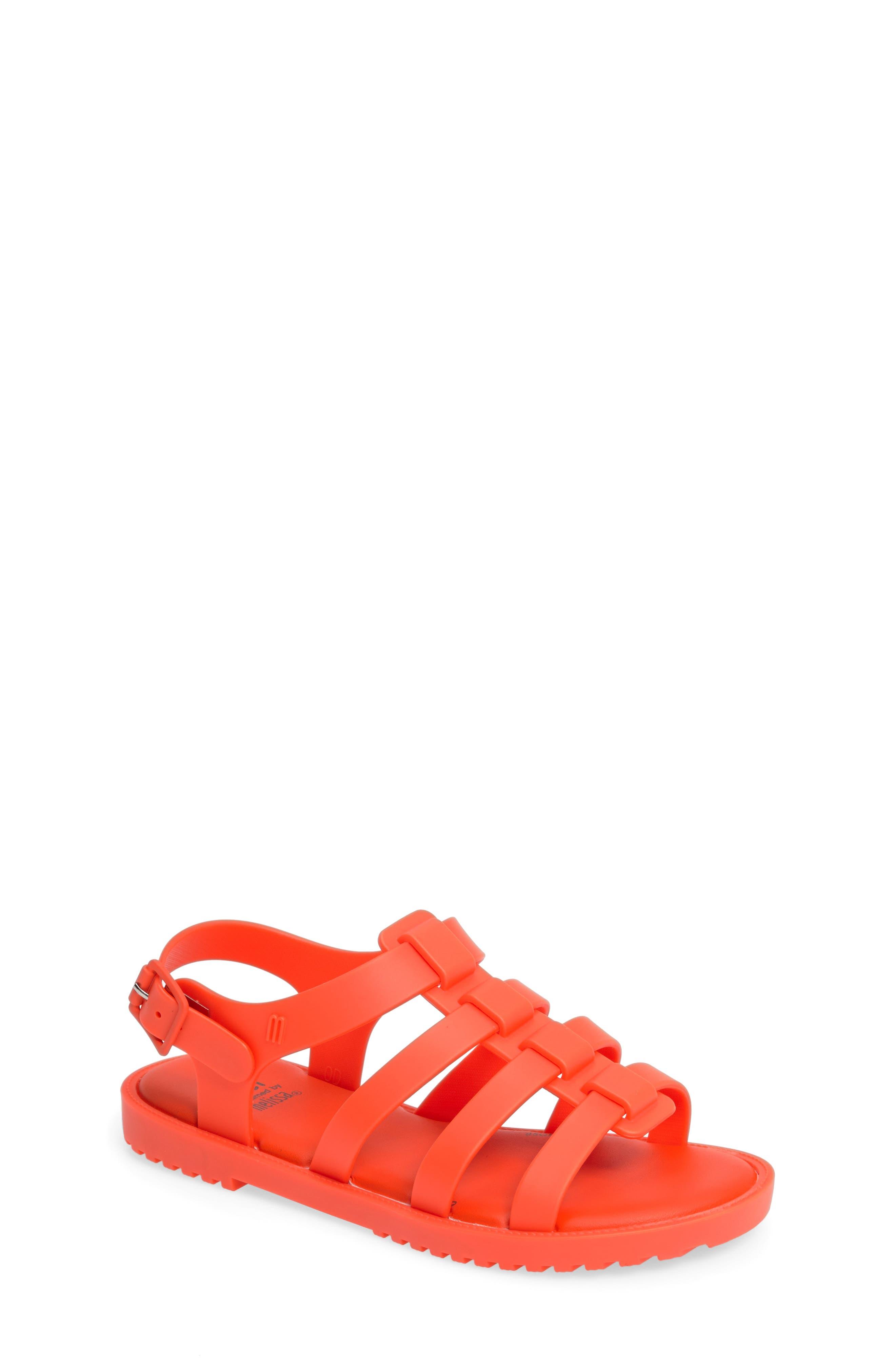 Mini Melissa 'Flox' Sandal (Toddler & Little Kid)