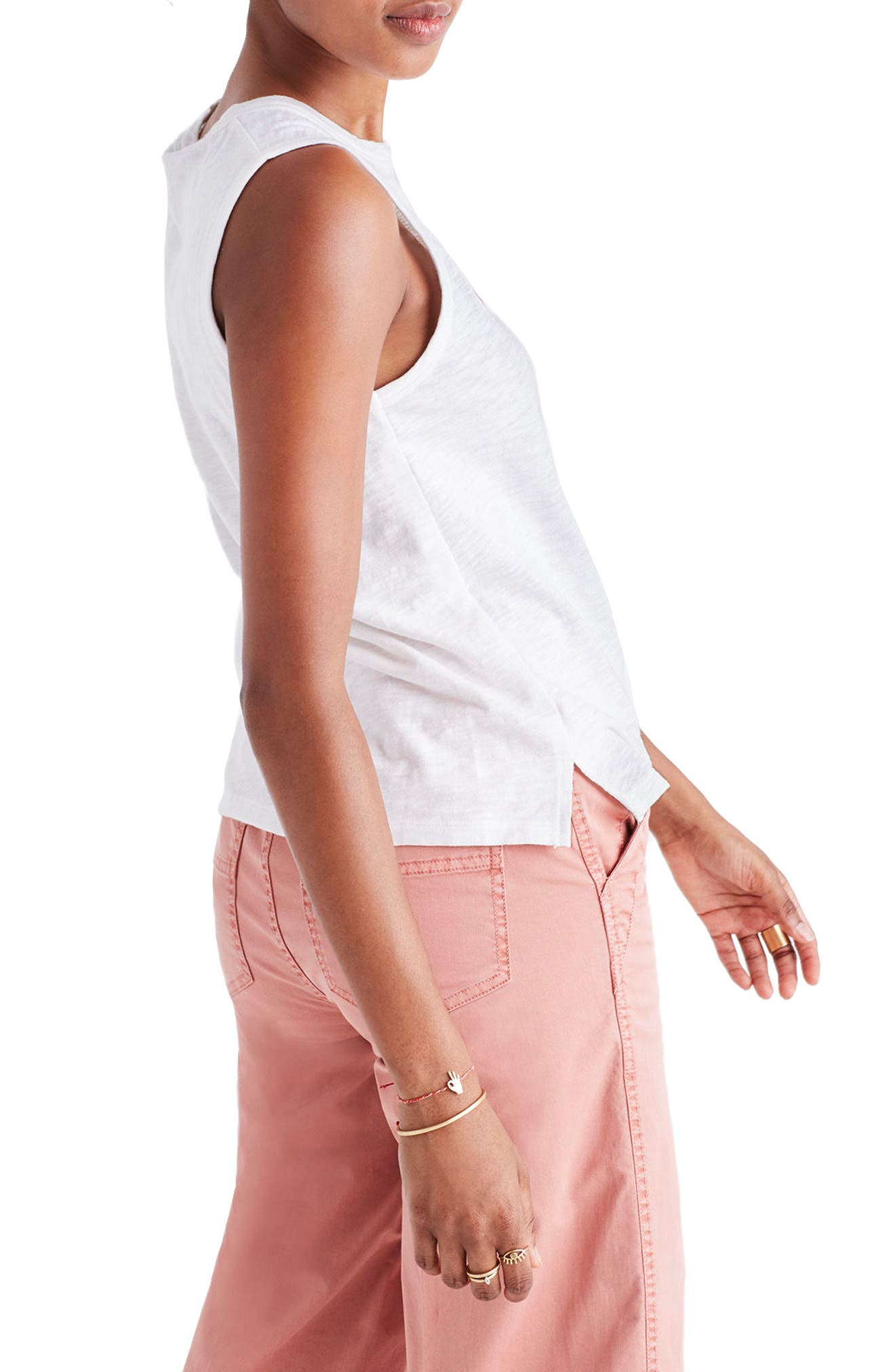 Alternate Image 3  - Madewell Vacation Embroidered Tank