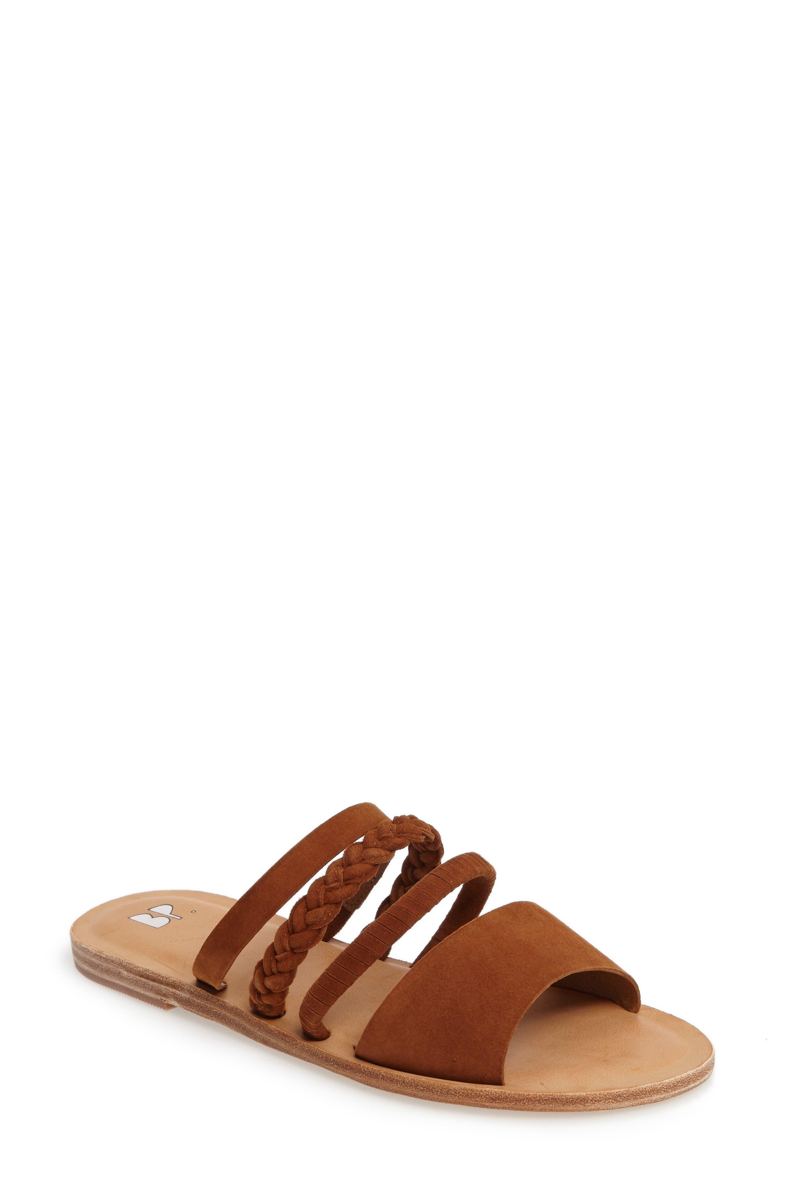 BP. Bayla Strappy Slip-On Sandal (Women)