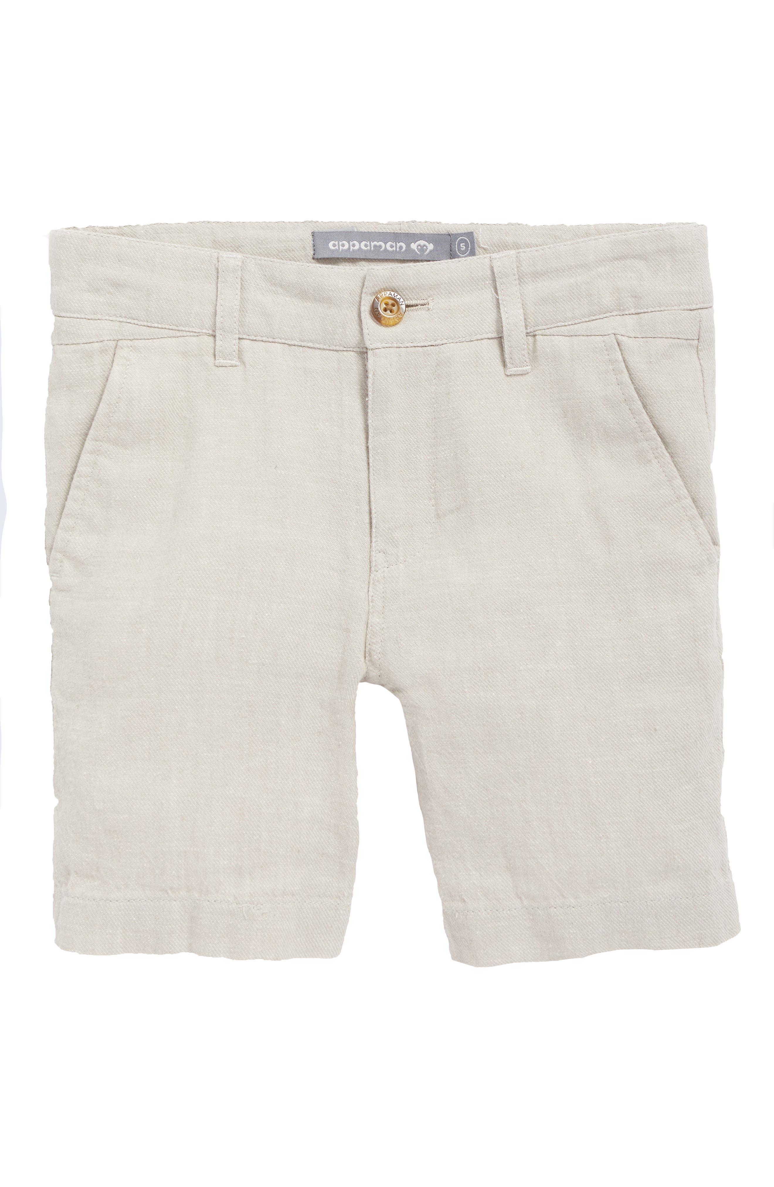 Appaman Linen Trouser Shorts (Toddler Boys, Little Boys & Big Boys)