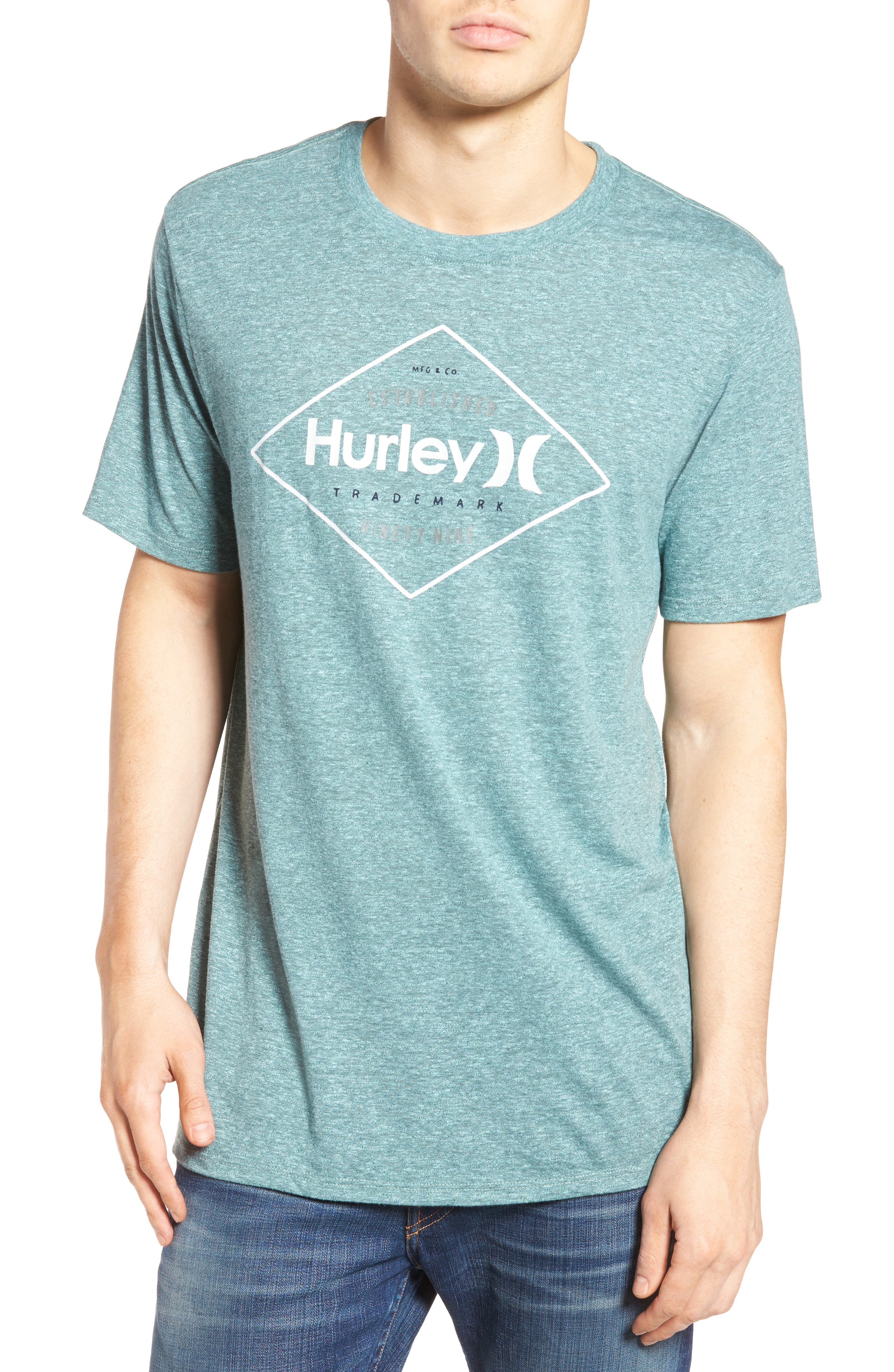 Hurley Diamond Logo Graphic T-Shirt