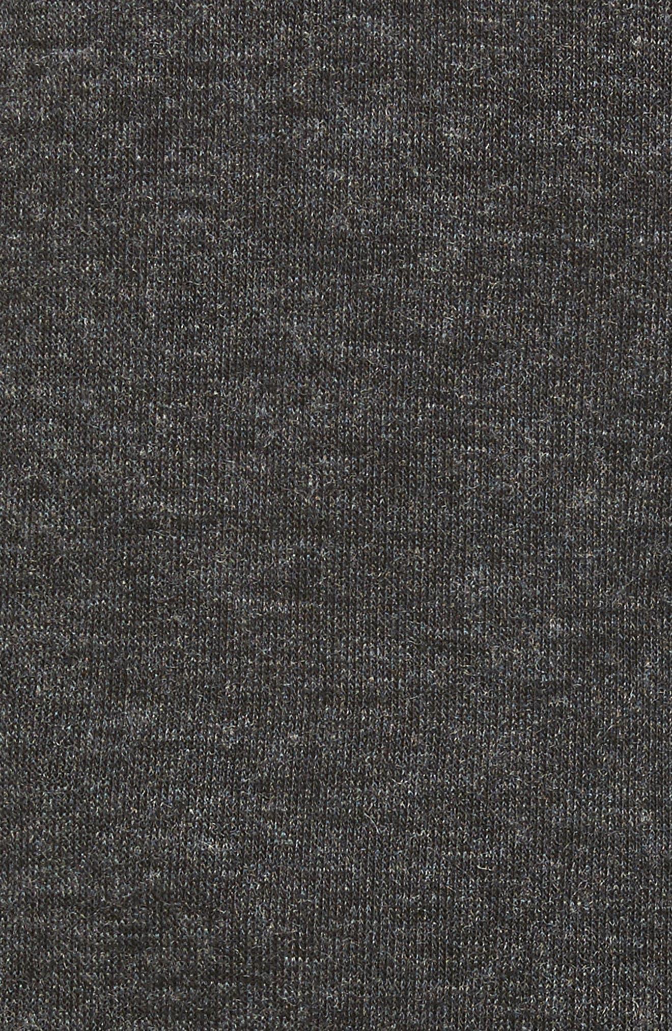 Alternate Image 5  - Caslon® Sweatshirt Dress (Regular & Petite)