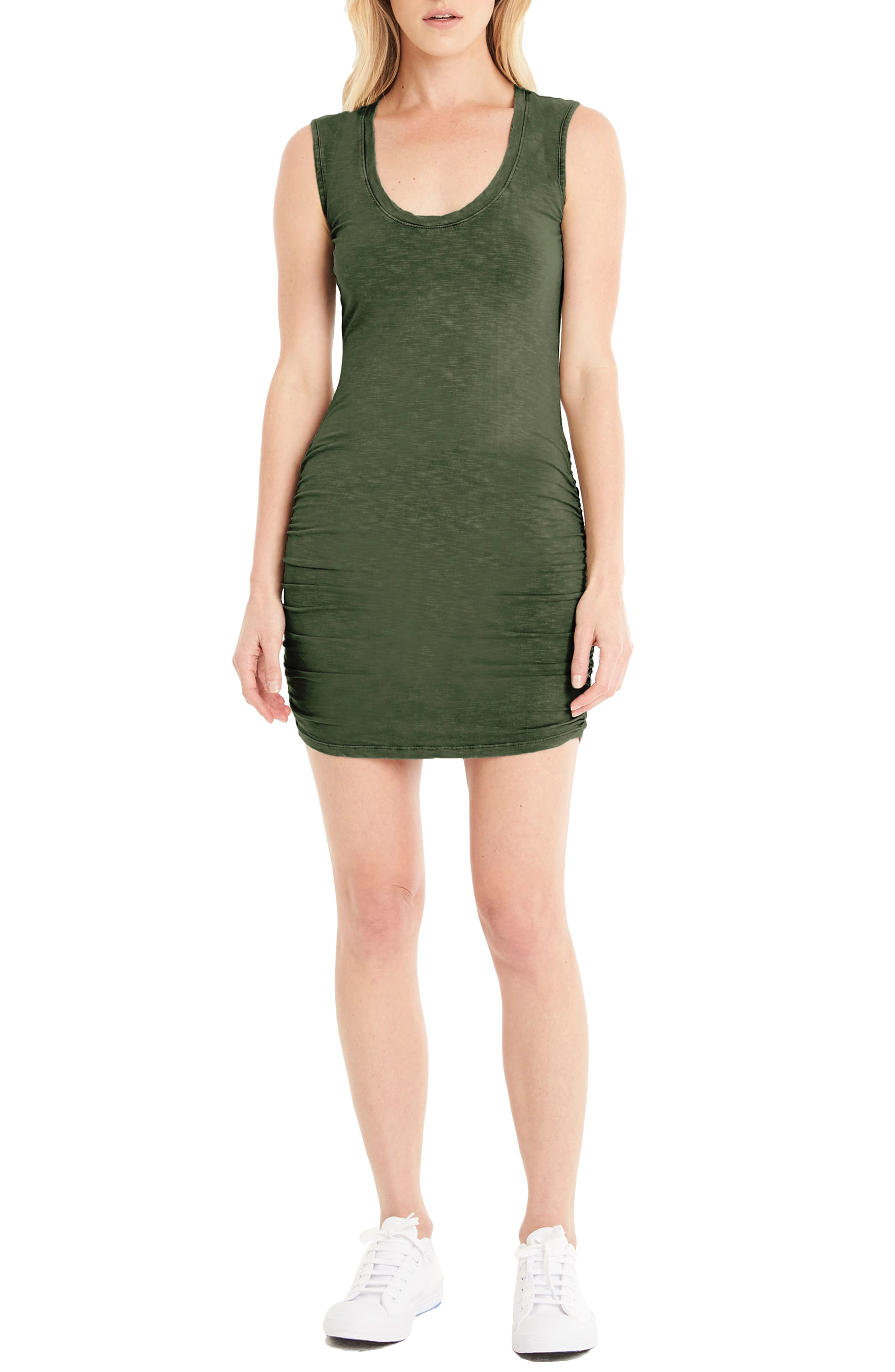 Michael Stars Ruched Jersey Dress