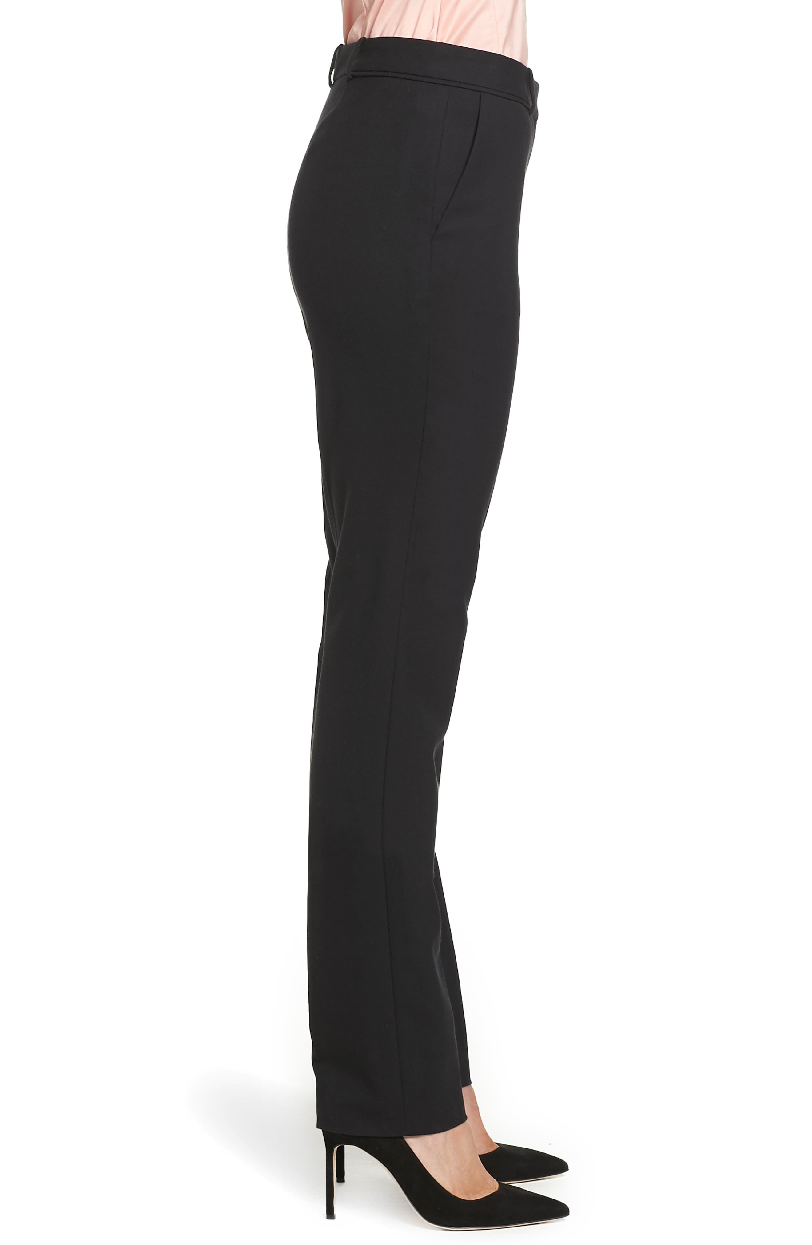 Alternate Image 4  - BOSS Titana Stretch Wool Trousers (Petite)