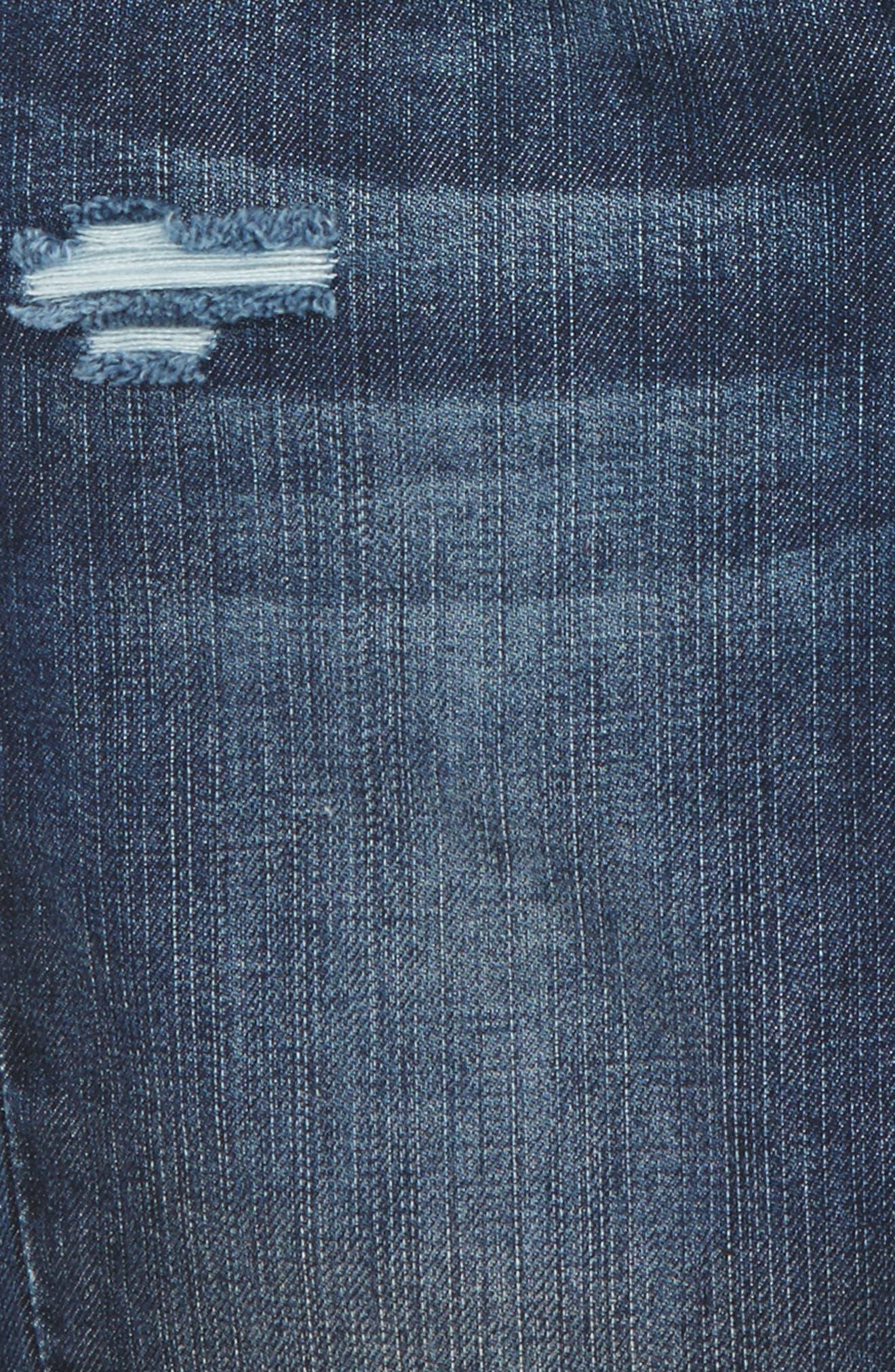 Alternate Image 3  - Joe's Frayed Cuff Bermuda Shorts (Toddler Girls & Little Girls)