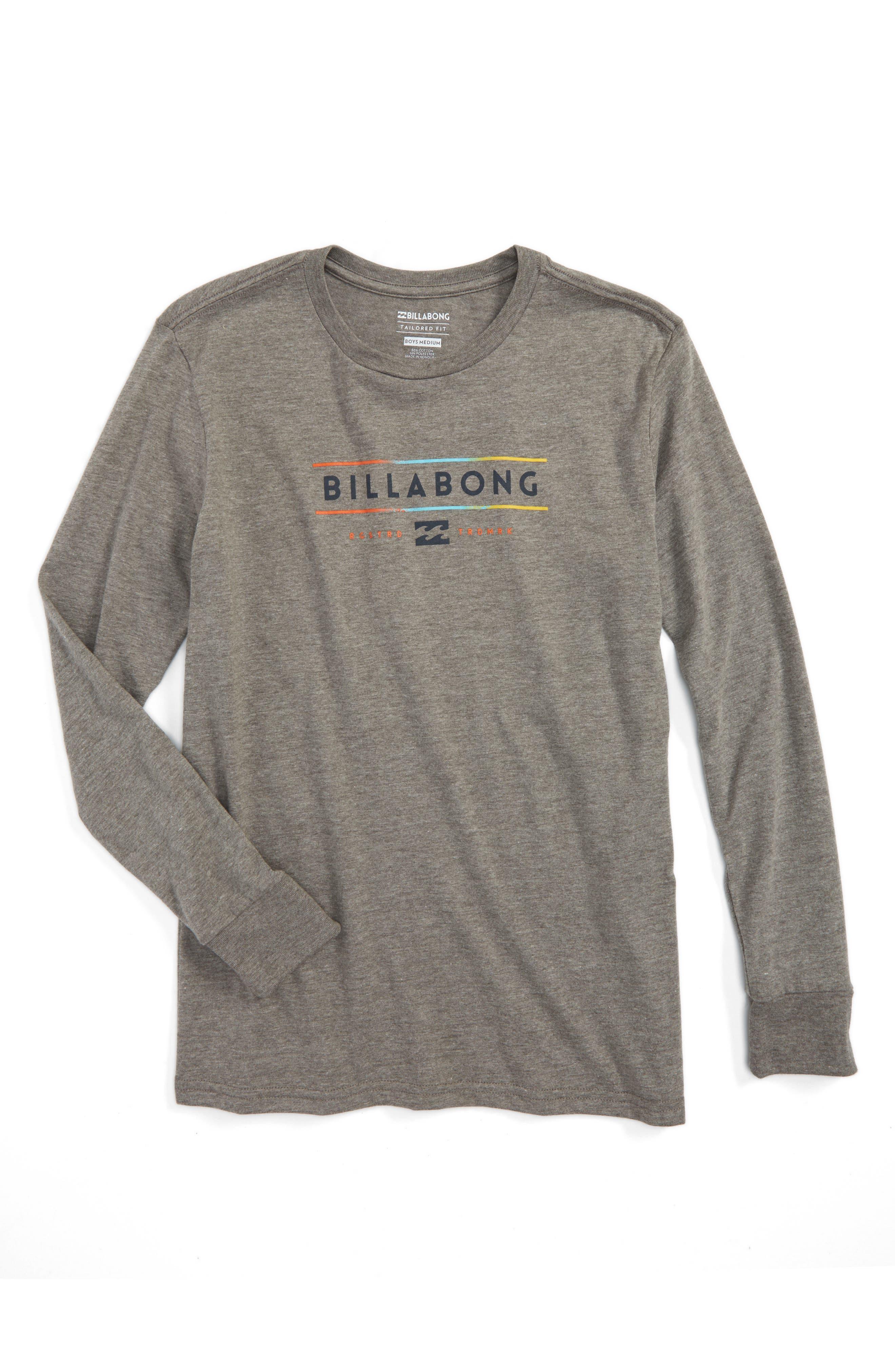 Billabong Dual Unity Long Sleeve T-Shirt (Toddler Boys, Little Boys & Big Boys)
