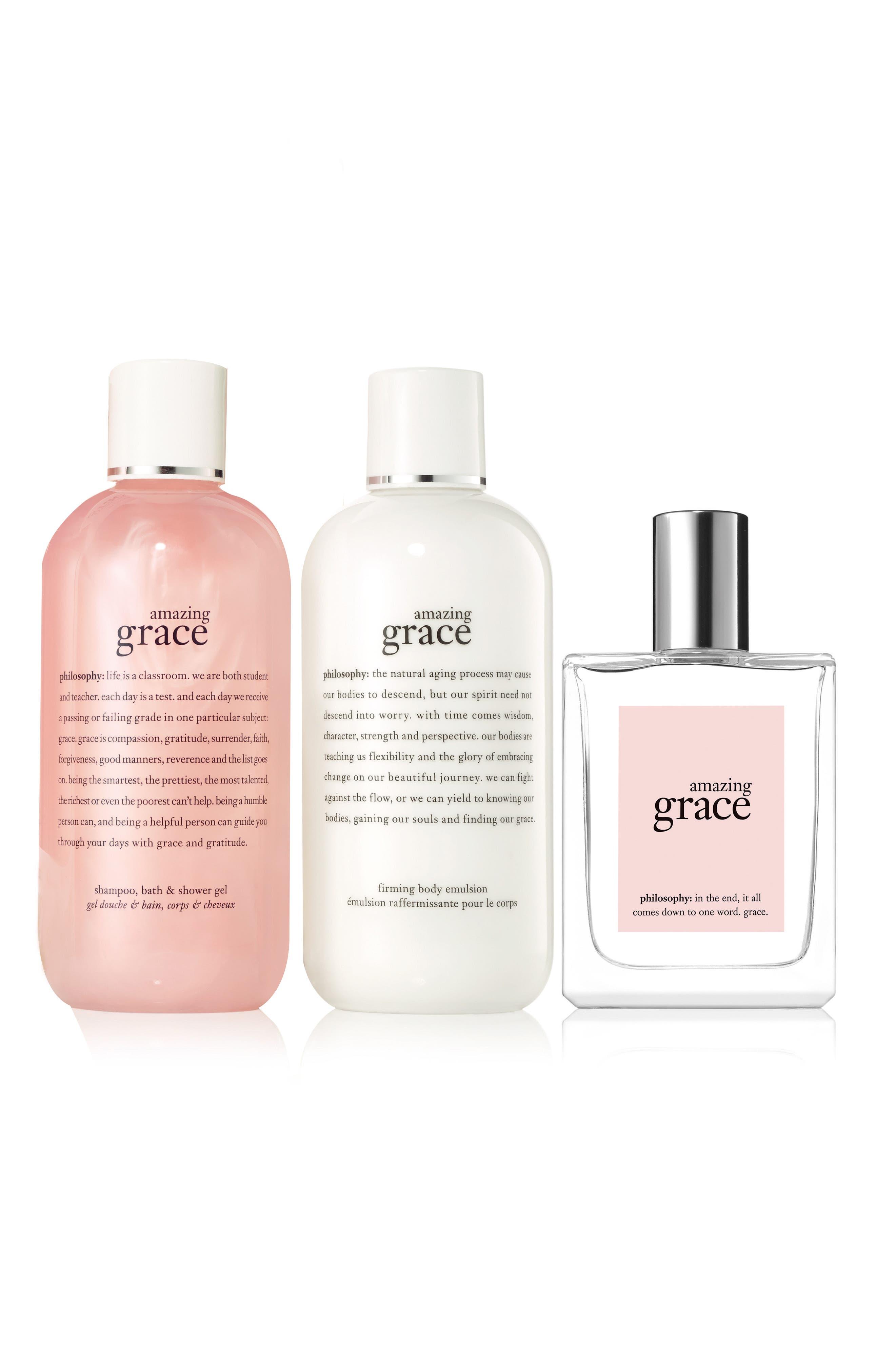 Alternate Image 2  - philosophy amazing grace set ($88 Value)