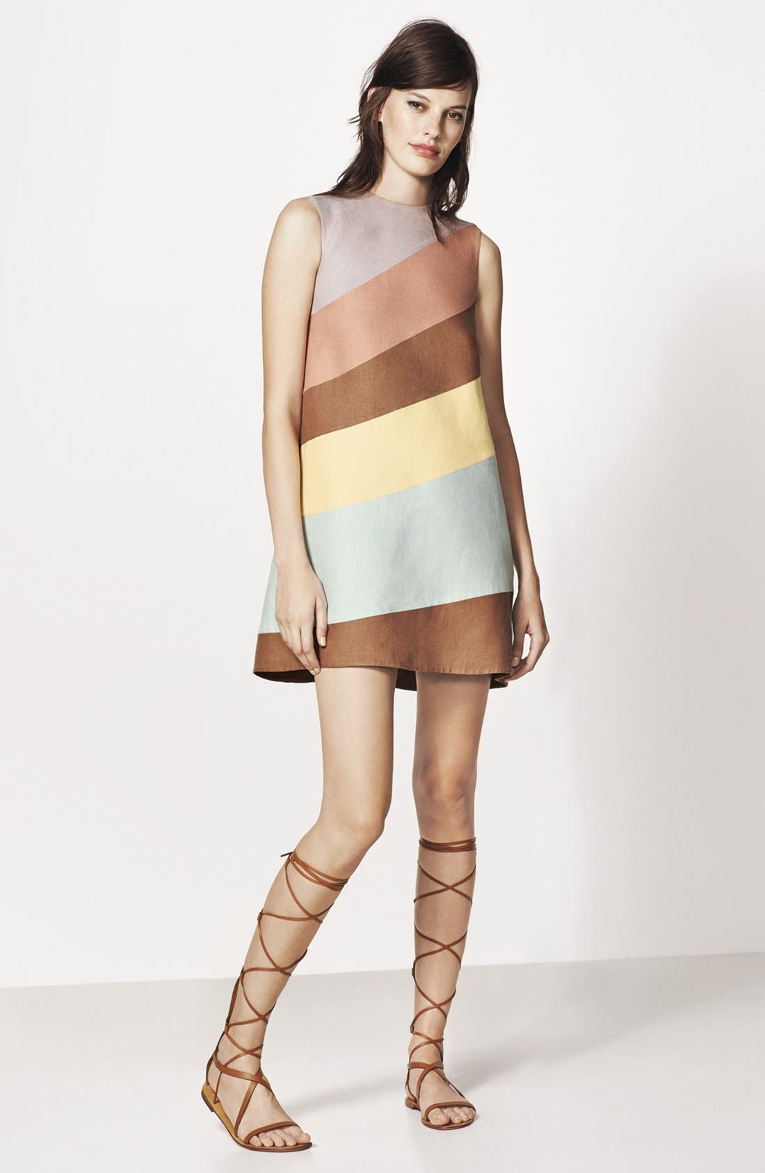 Alternate Image 5  - Valentino 'Rockstud' Tall Gladiator Sandal (Women)