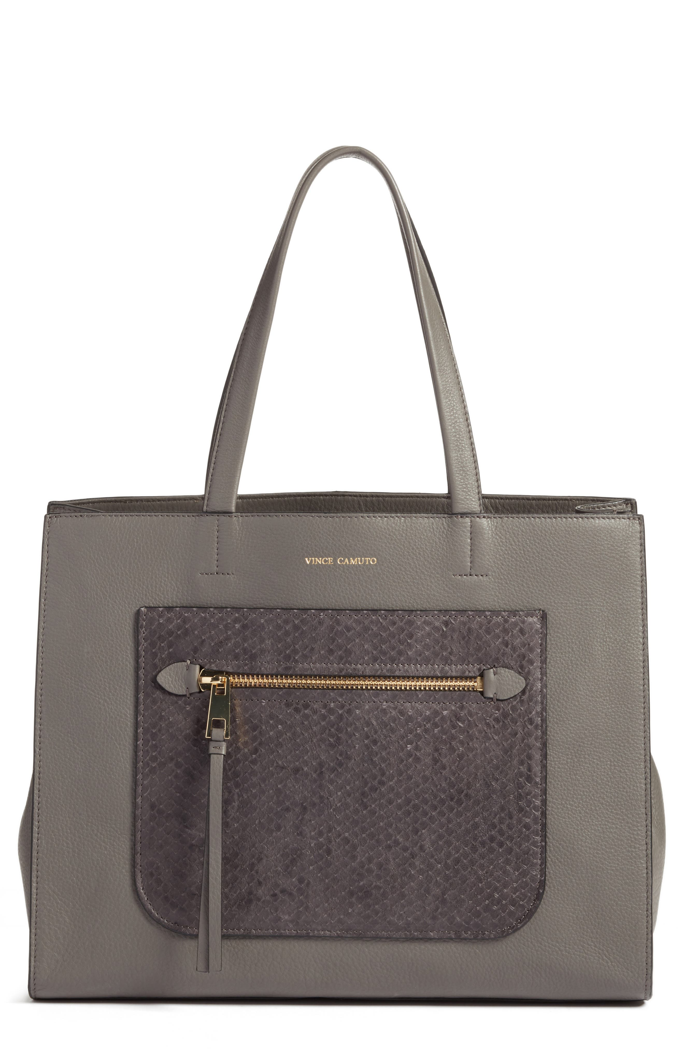 Vince Camuto Elvan Leather Tote (Nordstrom Exclusive)