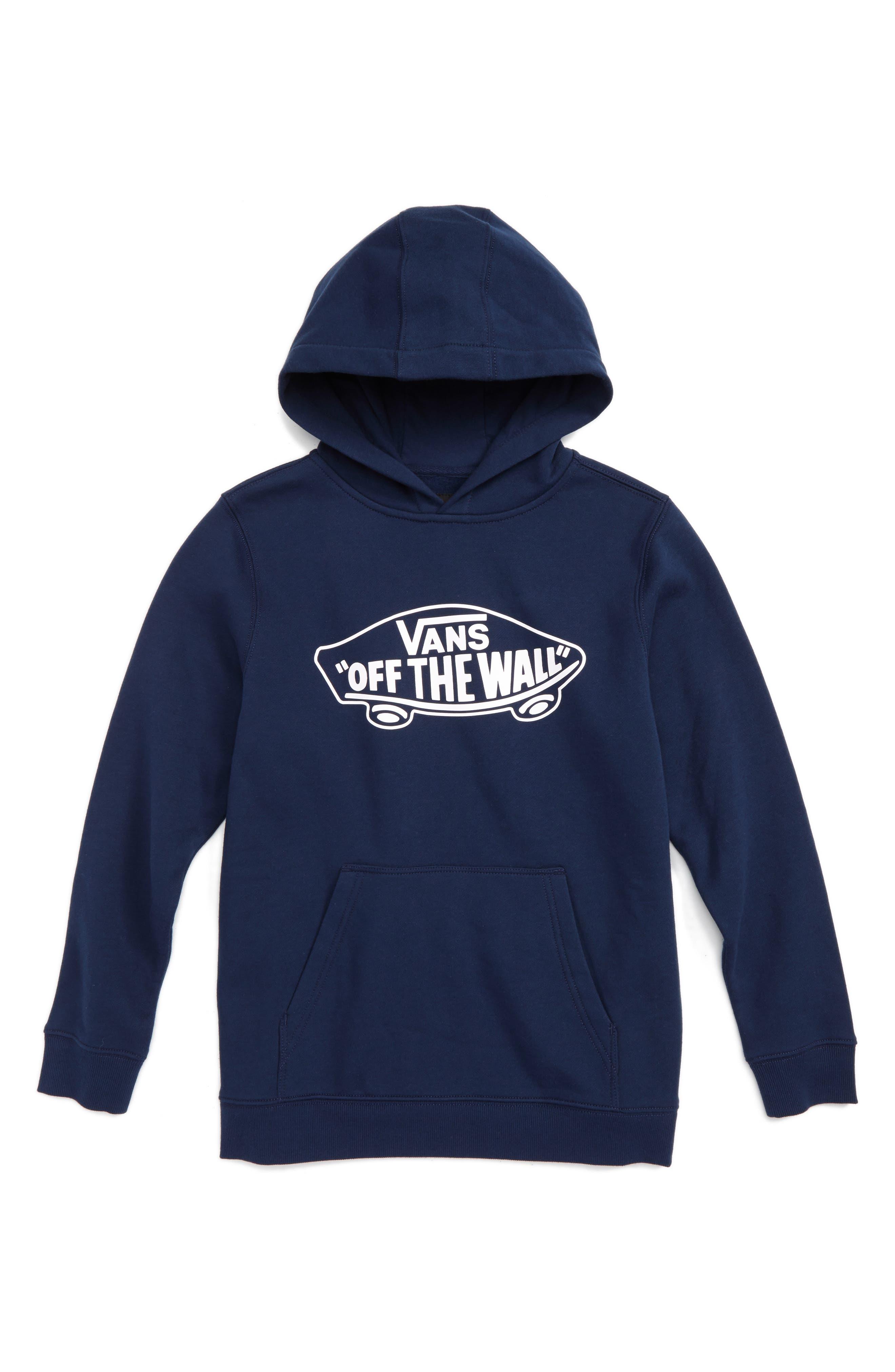 Vans Off the Wall Fleece Hoodie (Big Boys)