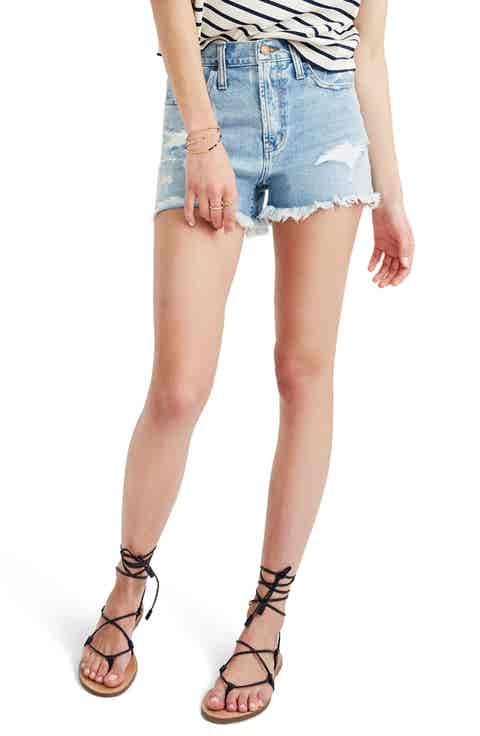 Madewell Perfect Jean Shorts (Langdon)