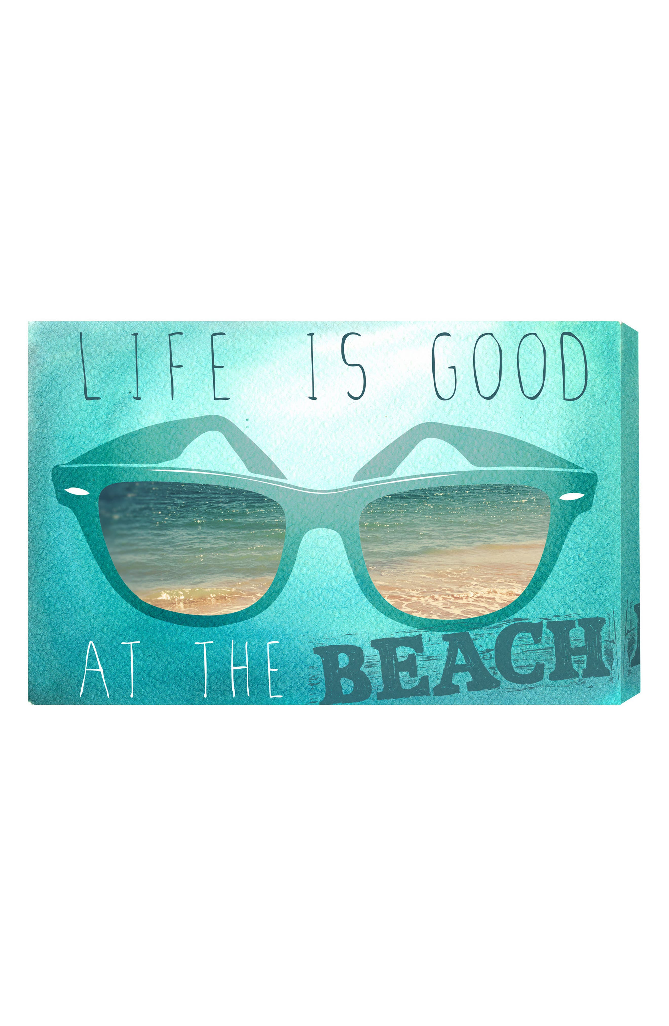 Oliver Gal At the Beach Canvas Wall Art