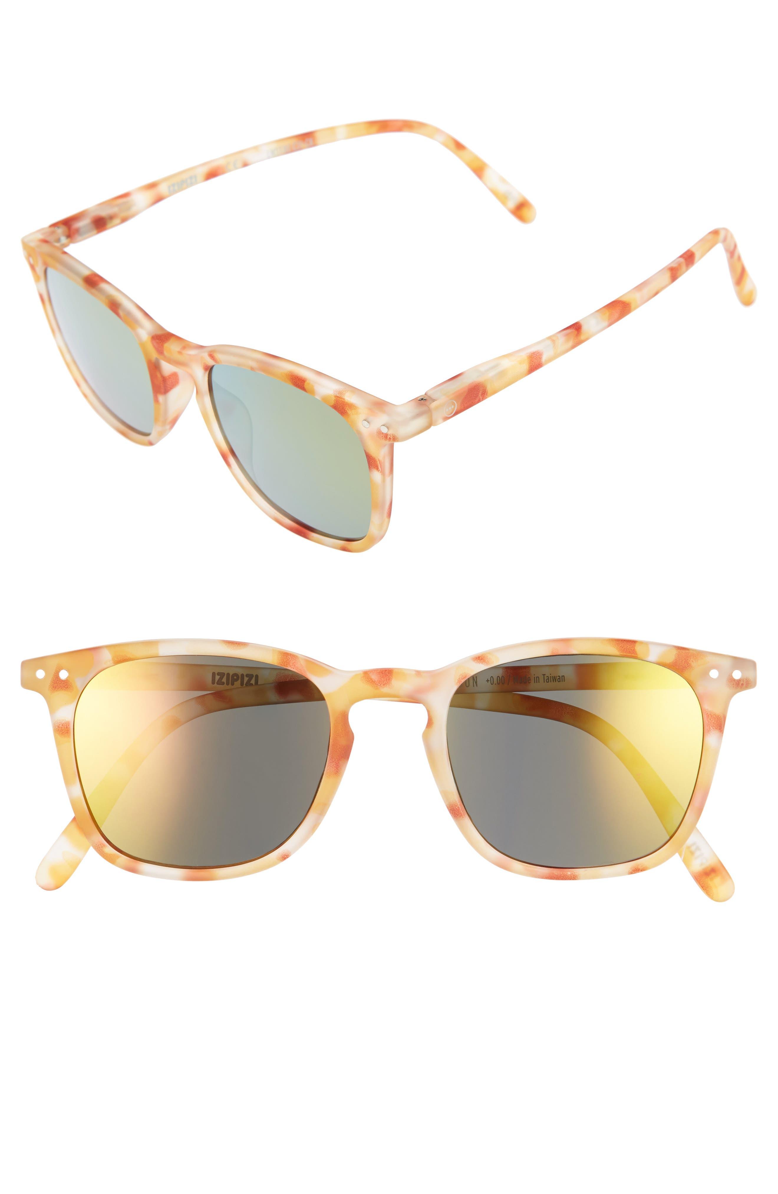 Izipizi E 48mm Mirrored Sunglasses
