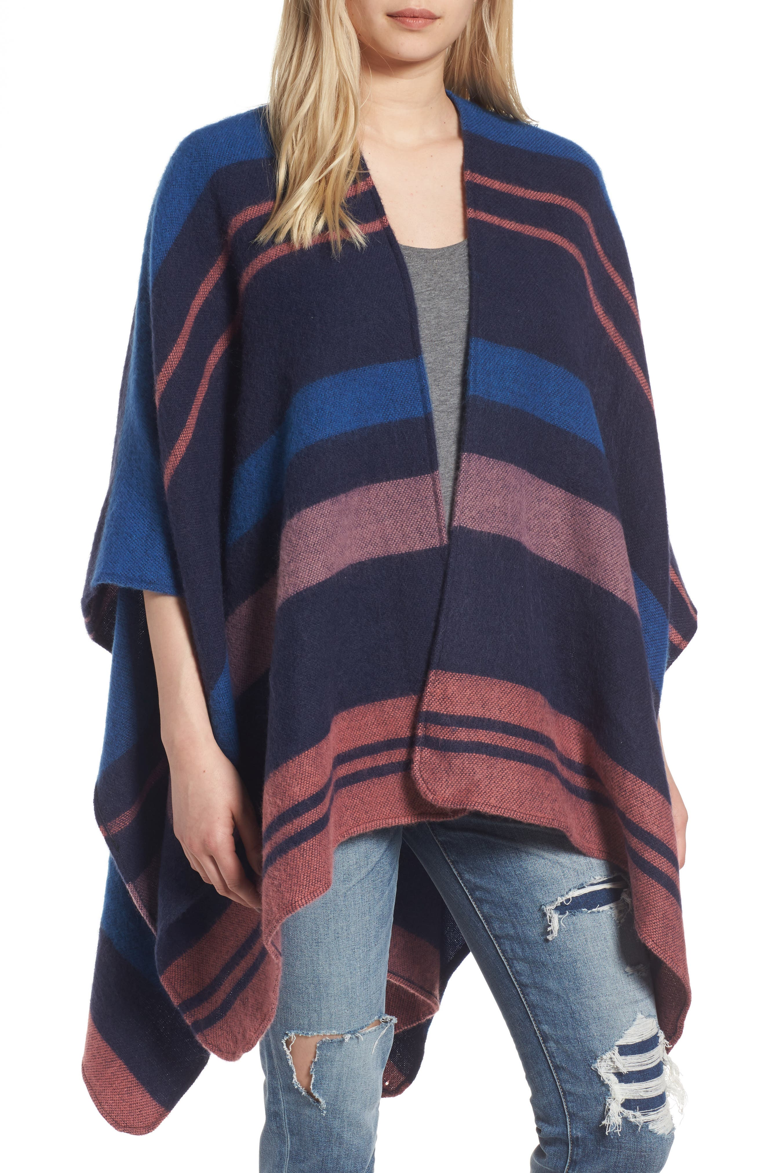 Treasure & Bond Stripe Cape