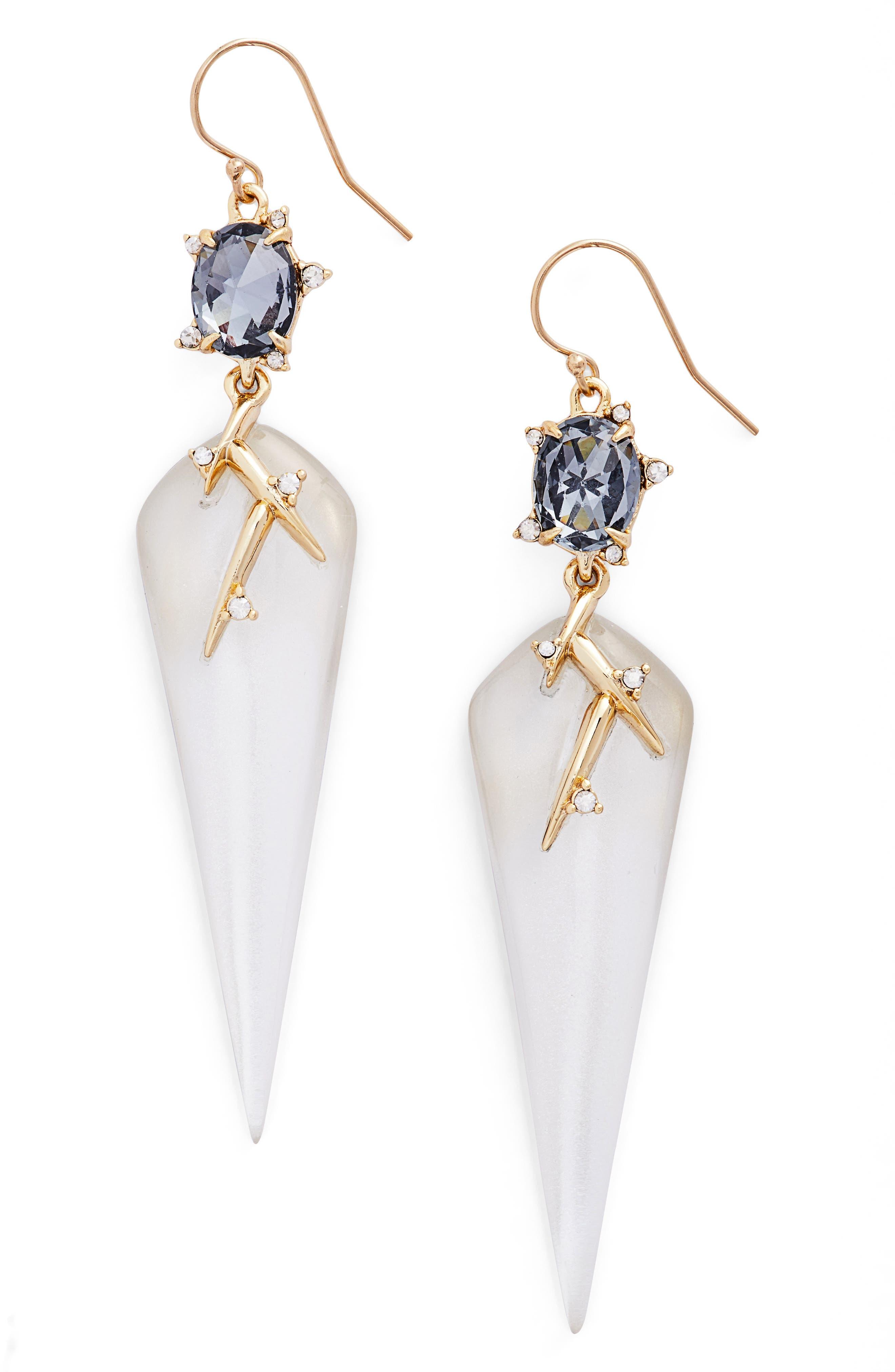 Alexis Bittar Lucite® Crystal Drop Earrings