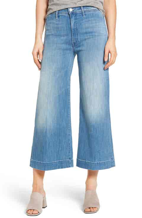 MOTHER The Swooner Roller Crop Jeans (After All These Years)