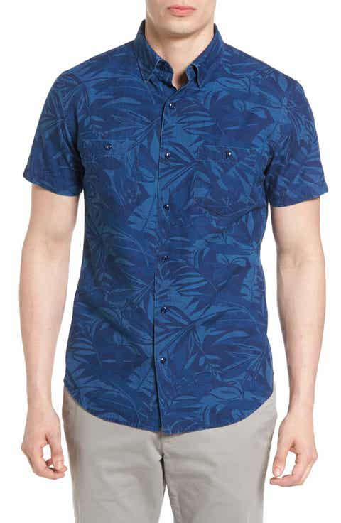 Bonobos Slim Fit Print Sport Shirt