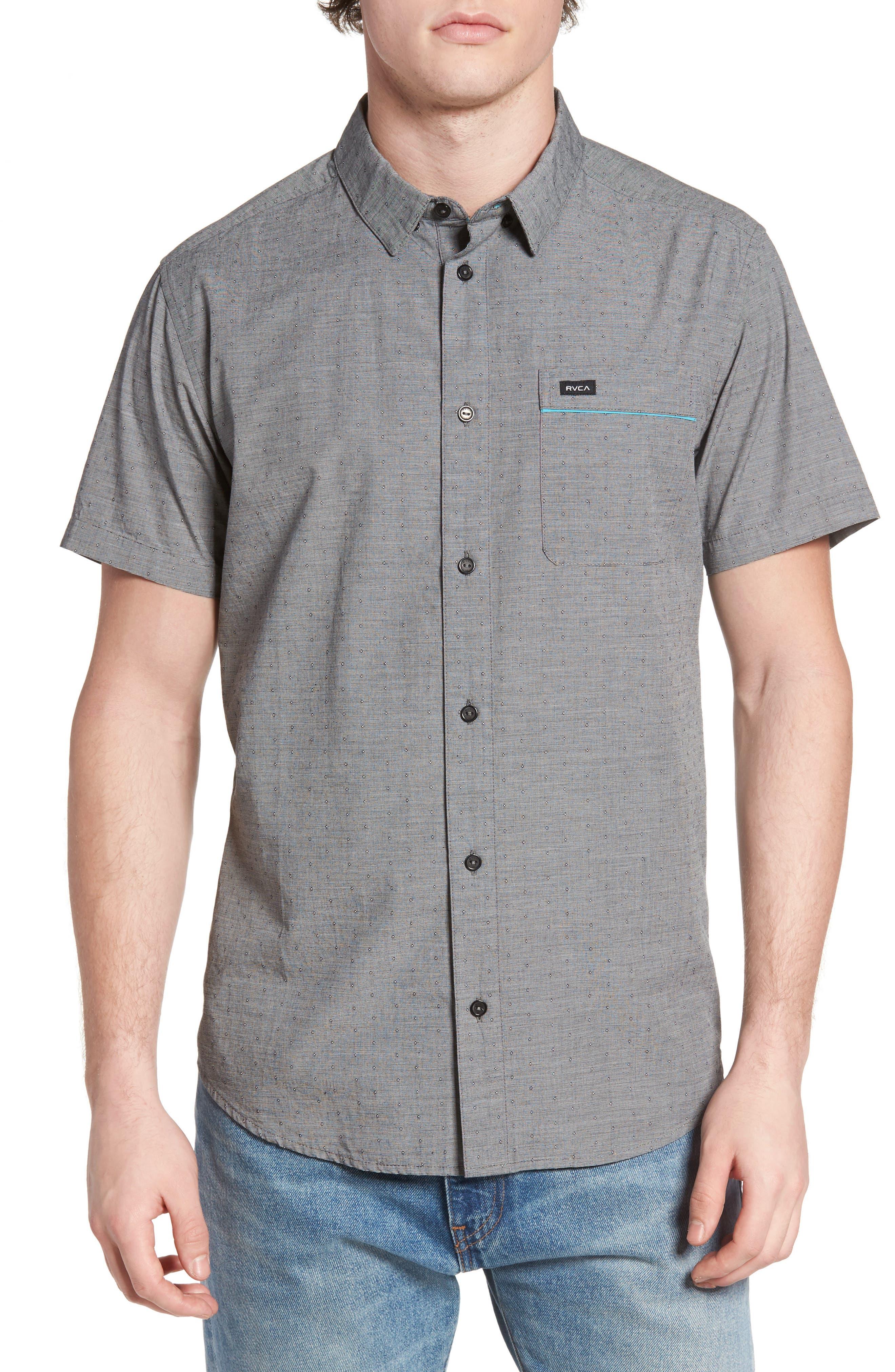 RVCA Star Star Slim-Fit Woven Shirt