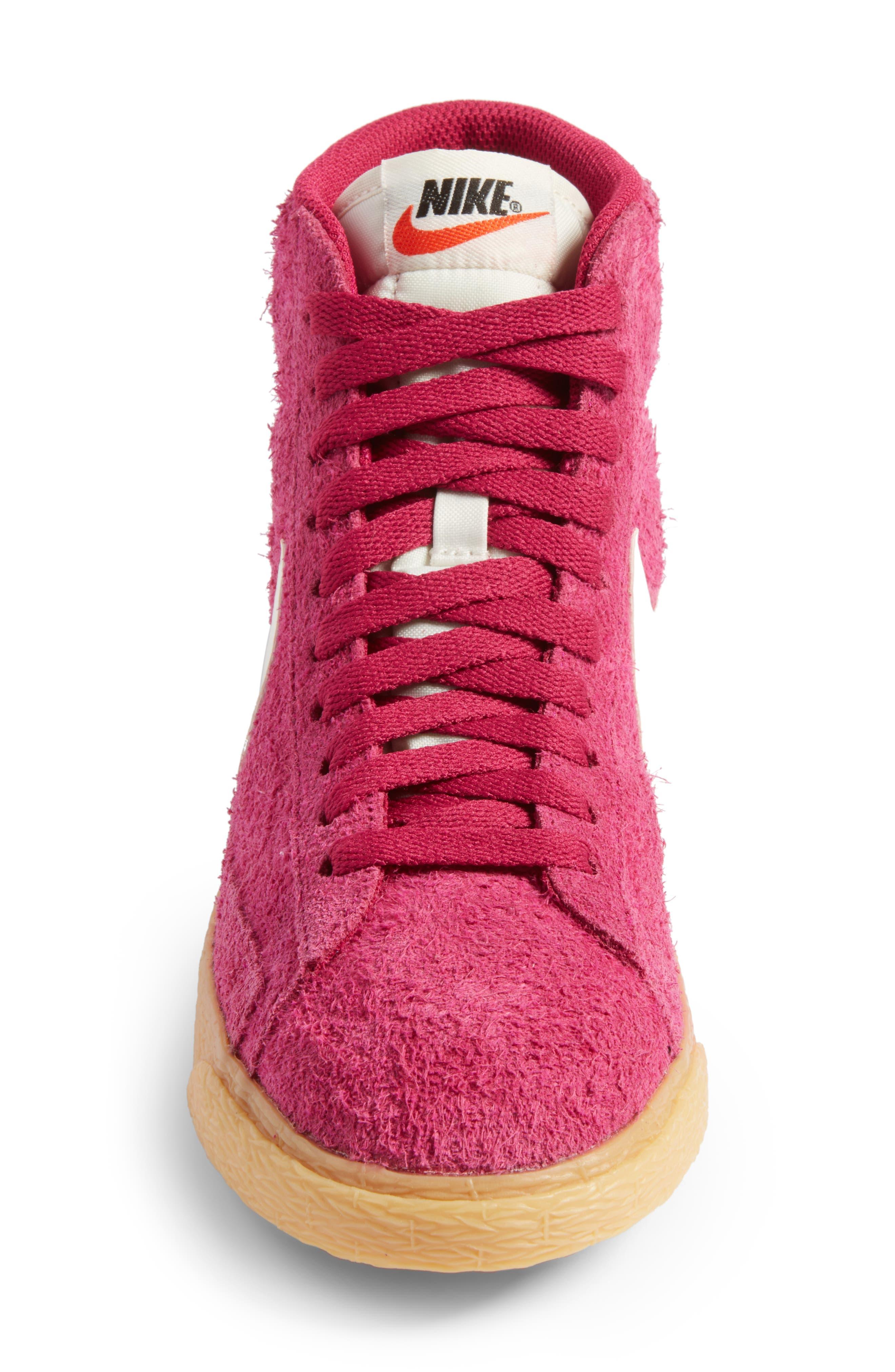 Alternate Image 4  - Nike 'Blazer' Vintage High Top Basketball Sneaker (Women)