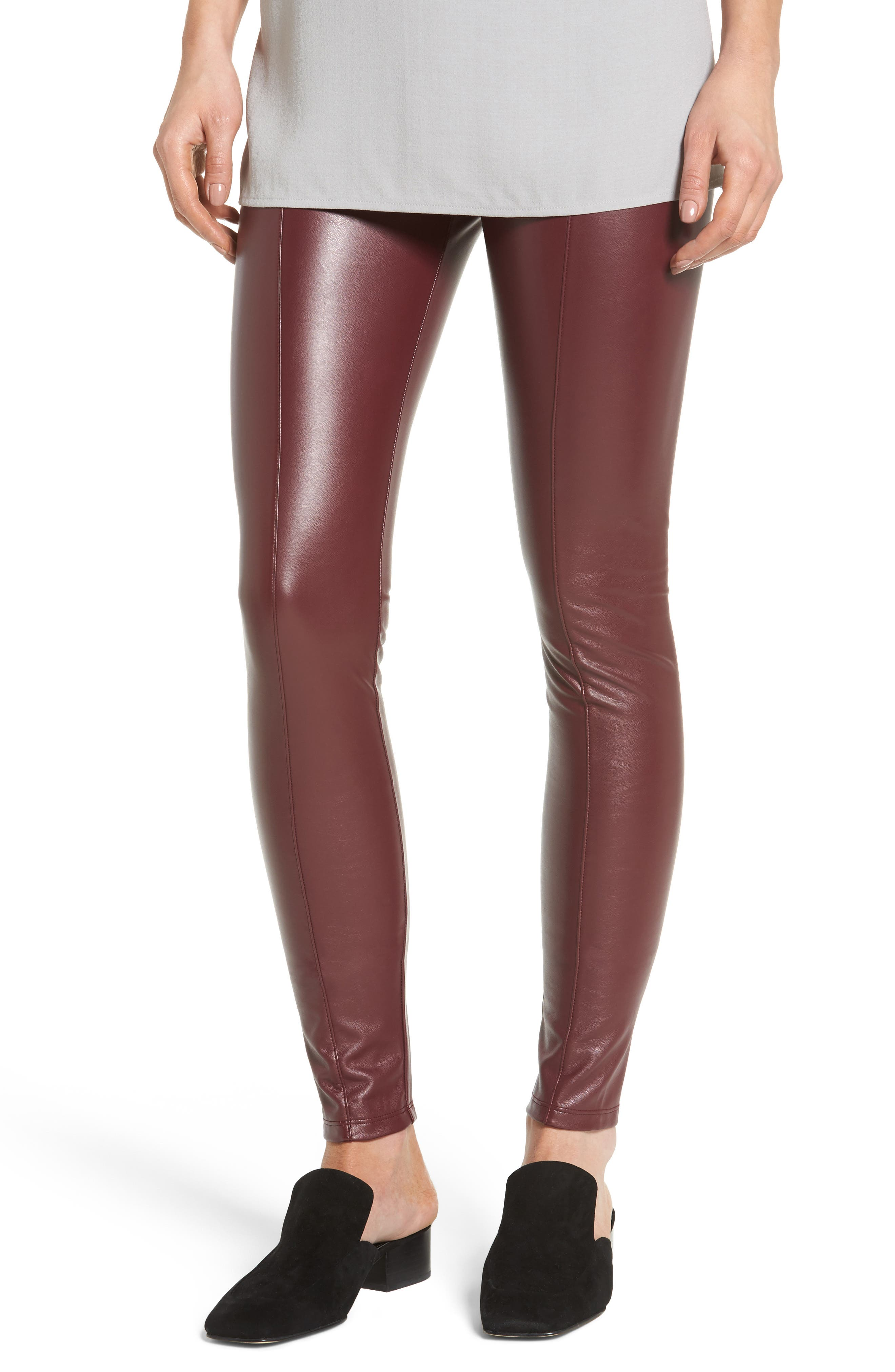 Lyssé High Waist Faux Leather Leggings
